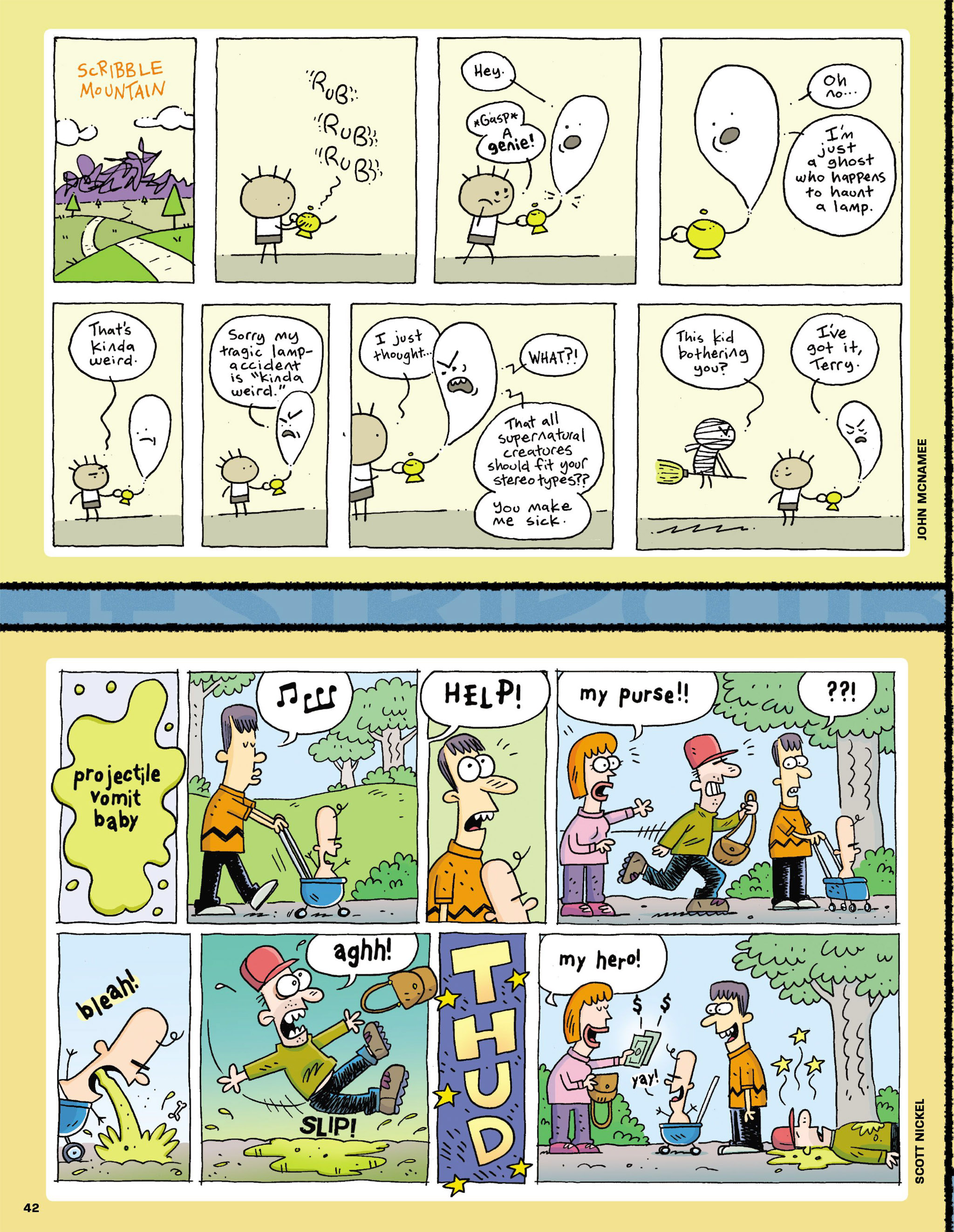 Read online MAD comic -  Issue #546 - 34