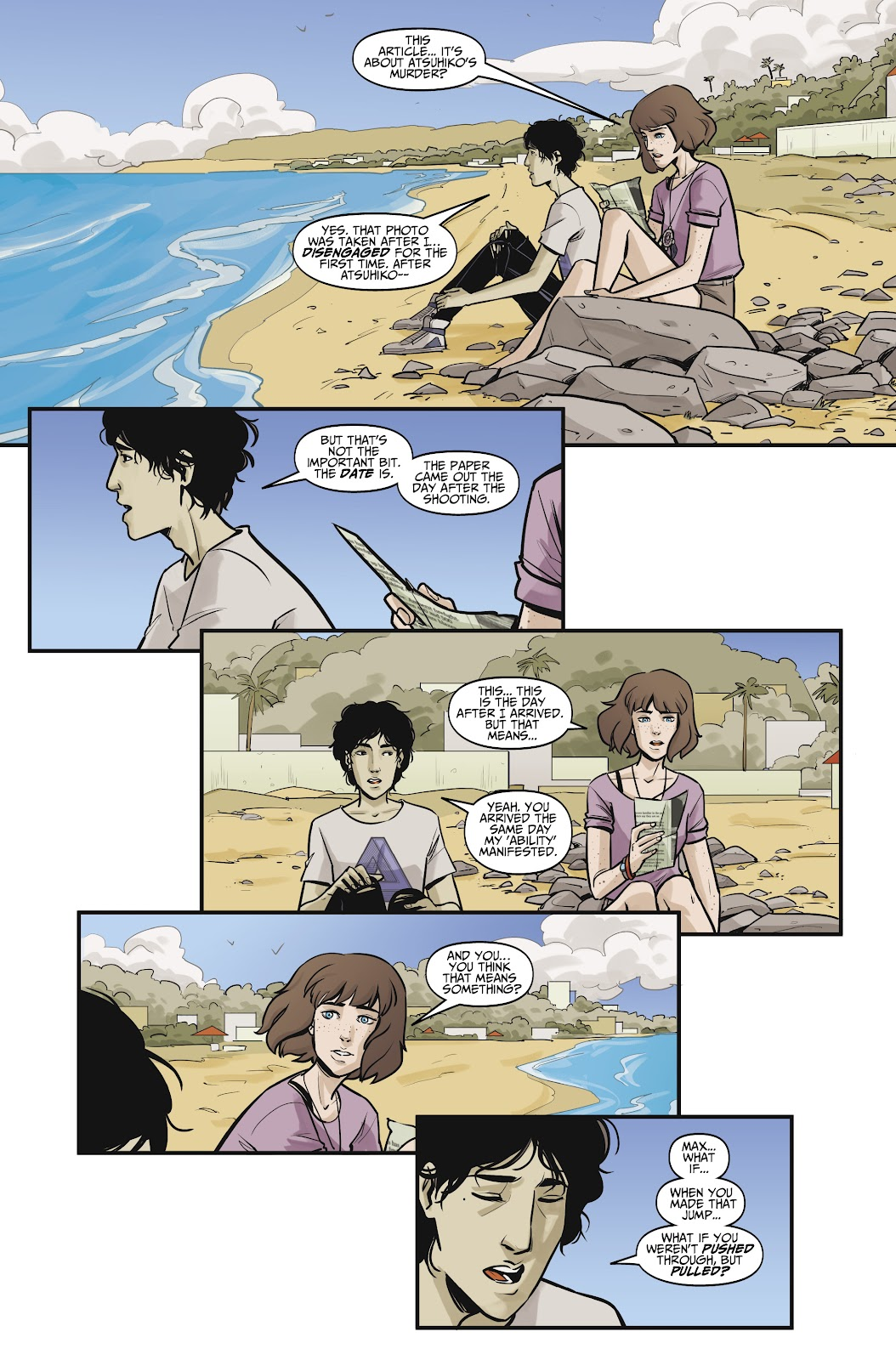 Read online Life is Strange comic -  Issue #10 - 14