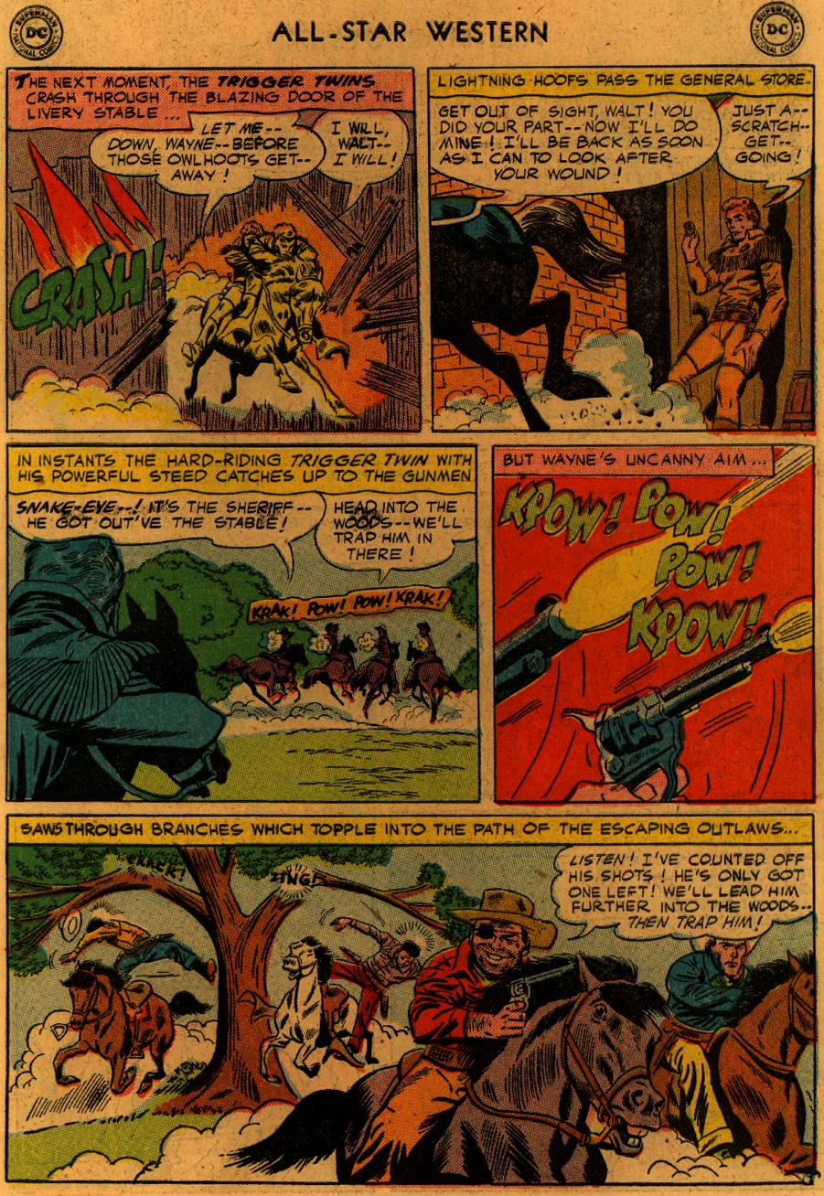 Read online All-Star Western (1951) comic -  Issue #89 - 8