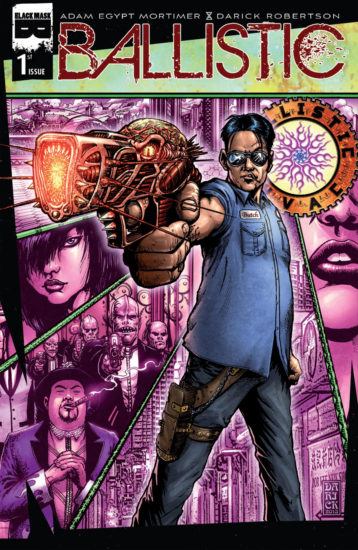 Read online Ballistic (2013) comic -  Issue #1 - 1