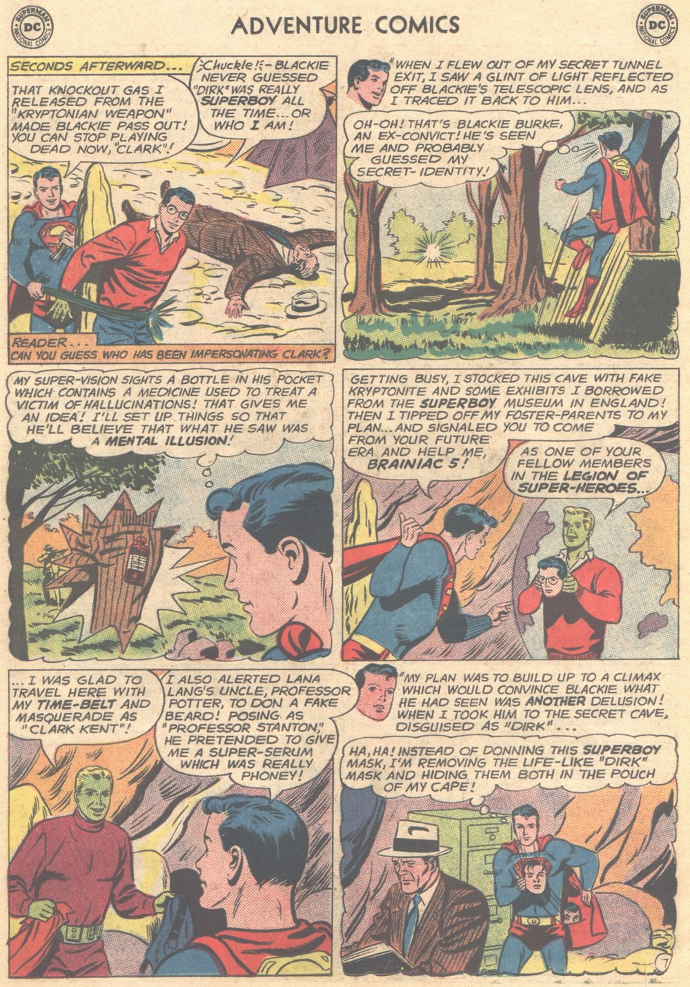 Read online Adventure Comics (1938) comic -  Issue #309 - 28