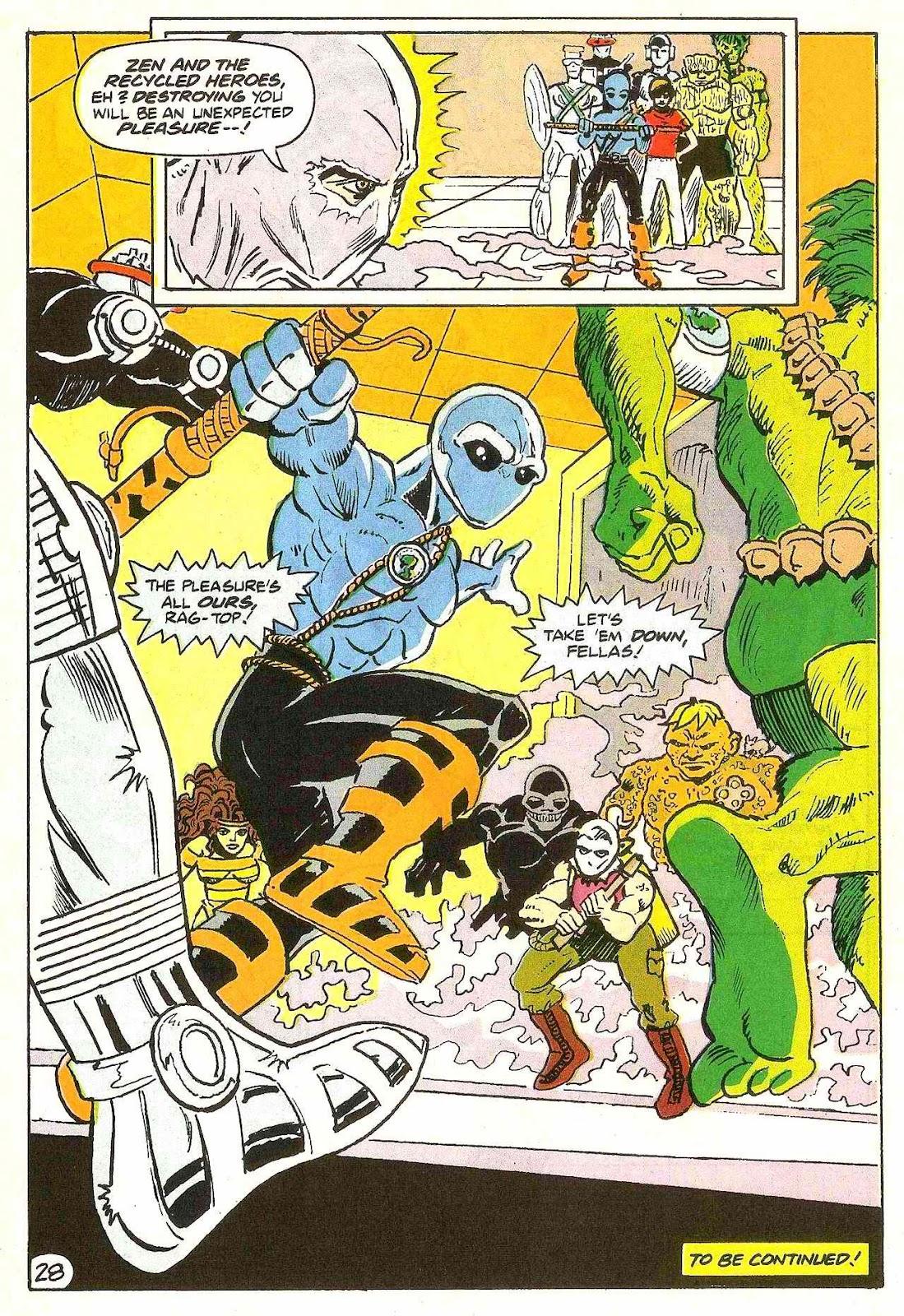 Read online Zen Intergalactic Ninja (1992) comic -  Issue #2 - 26