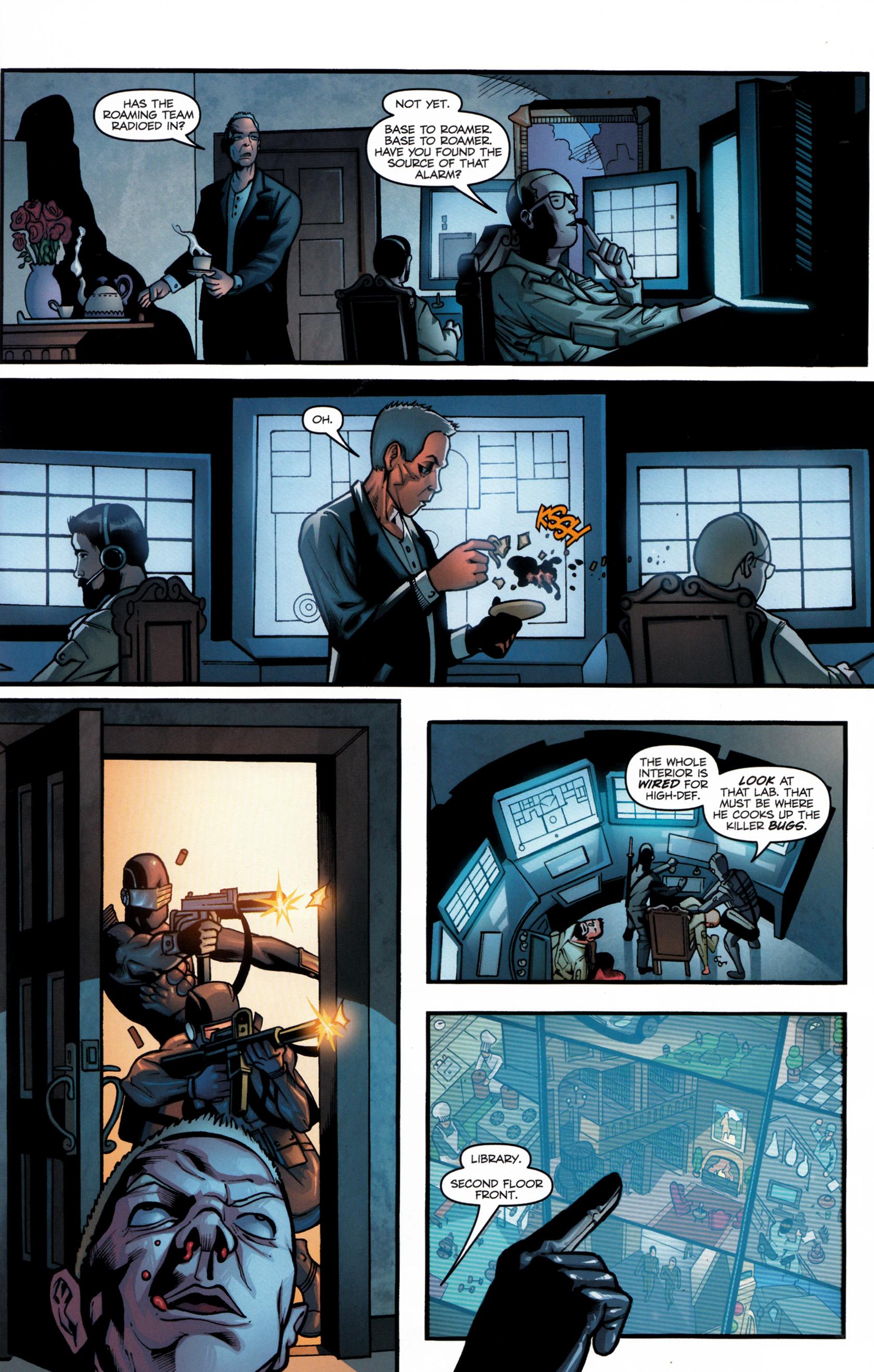 Read online G.I. Joe: Snake Eyes comic -  Issue #6 - 12