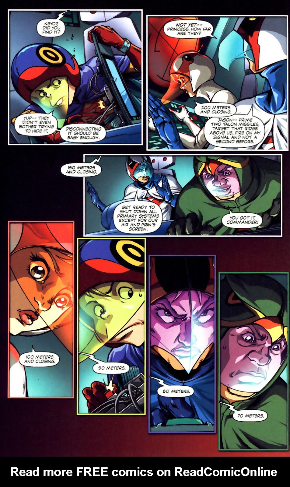 Battle of the Planets Issue #12 #14 - English 17