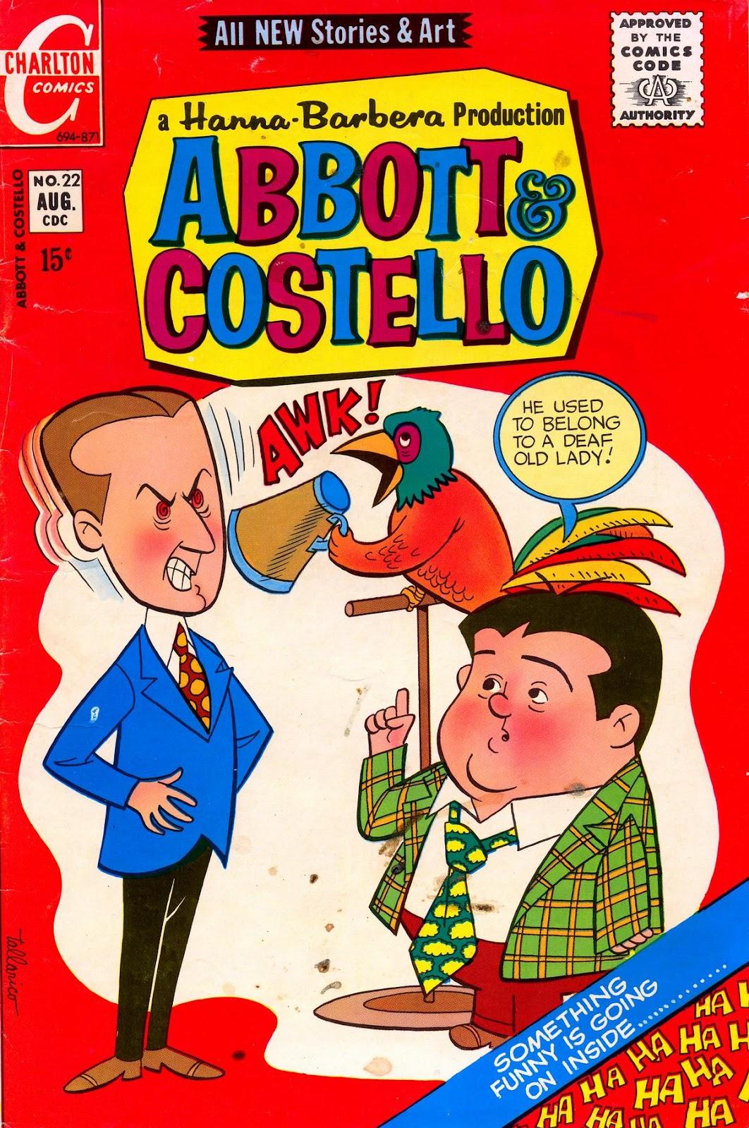 Abbott & Costello 22 Page 1