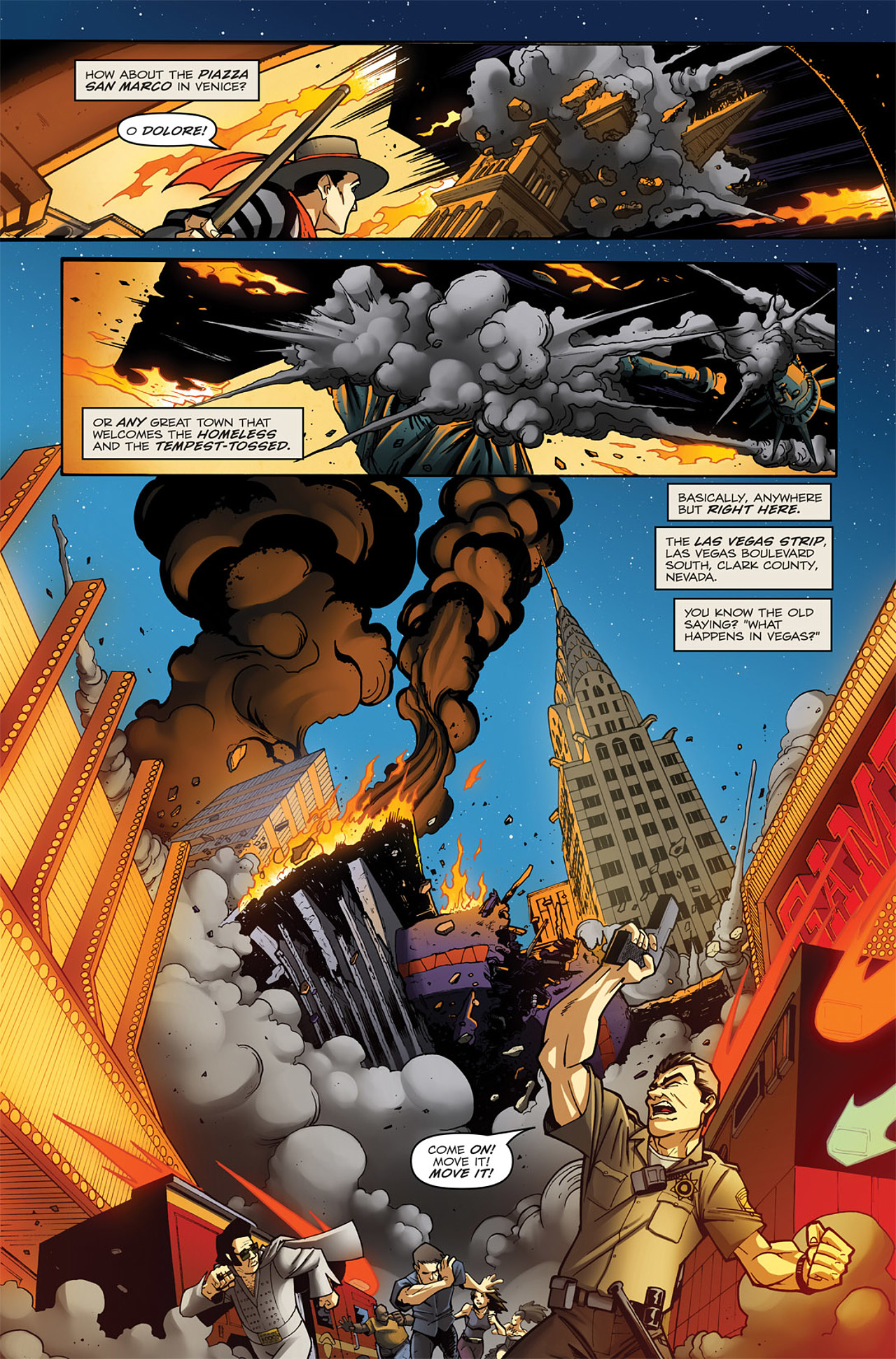 Read online Transformers: Infestation comic -  Issue #1 - 6