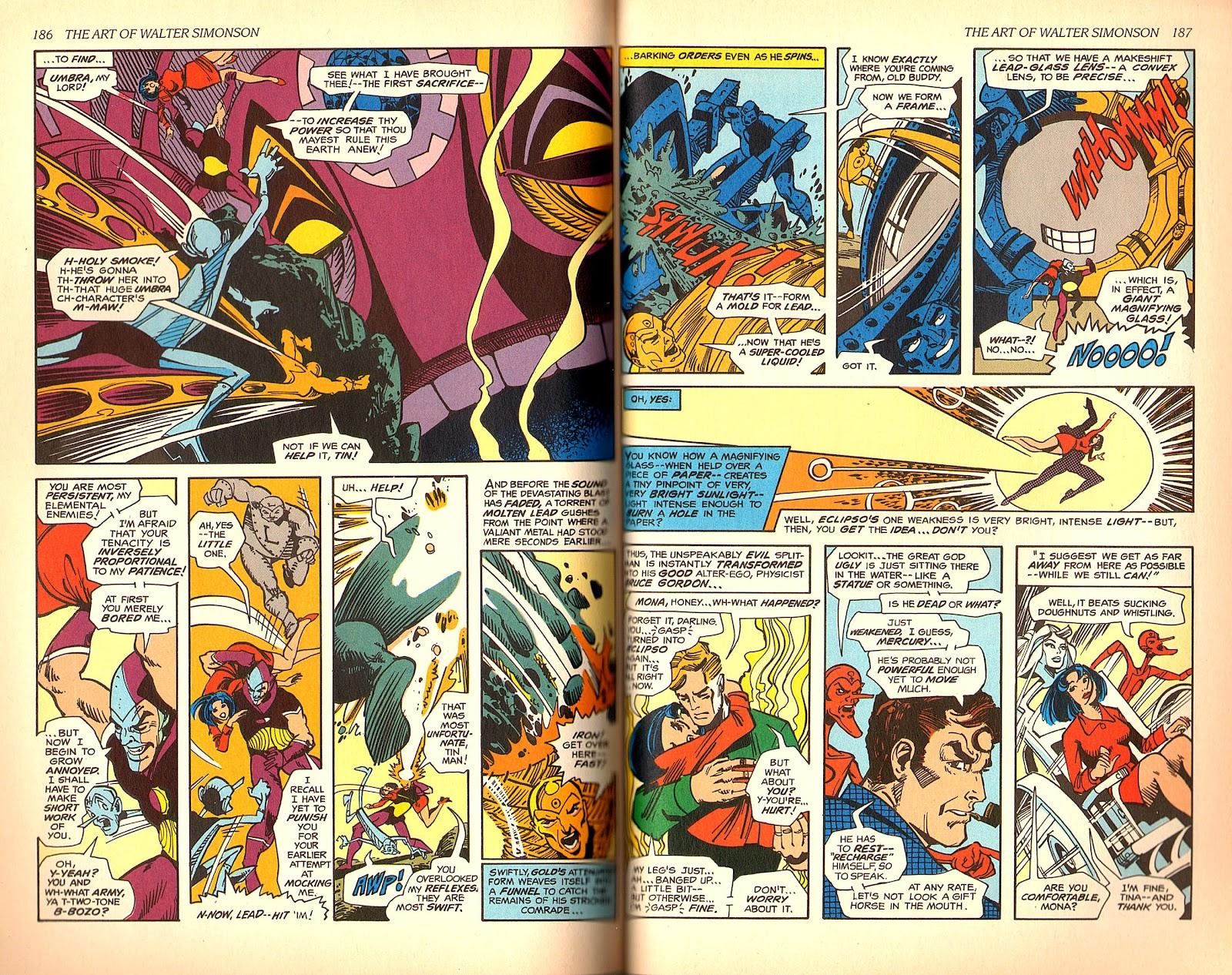 Read online The Art of Walter Simonson comic -  Issue # TPB - 95