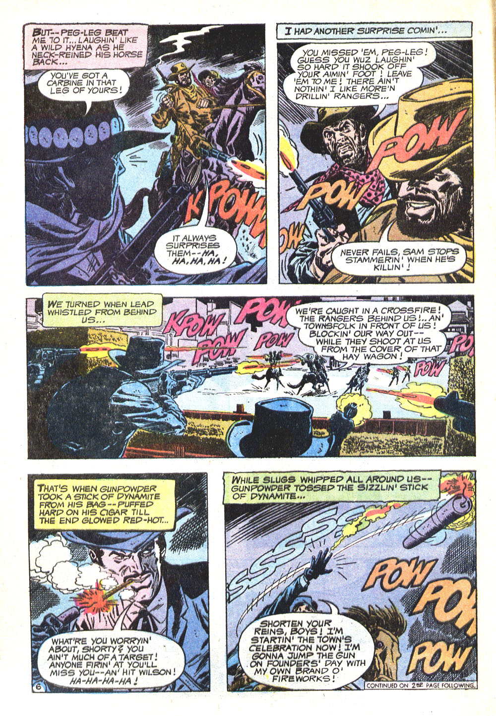 Read online All-Star Western (1970) comic -  Issue #5 - 8