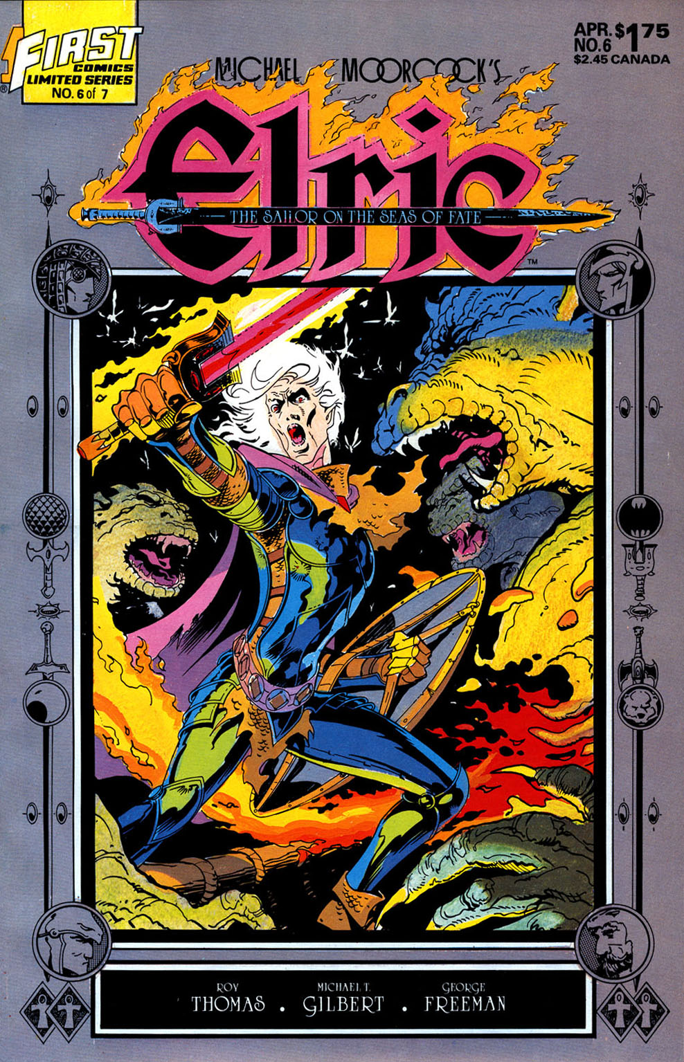 Read online Elric: Sailor on the Seas of Fate comic -  Issue #6 - 1