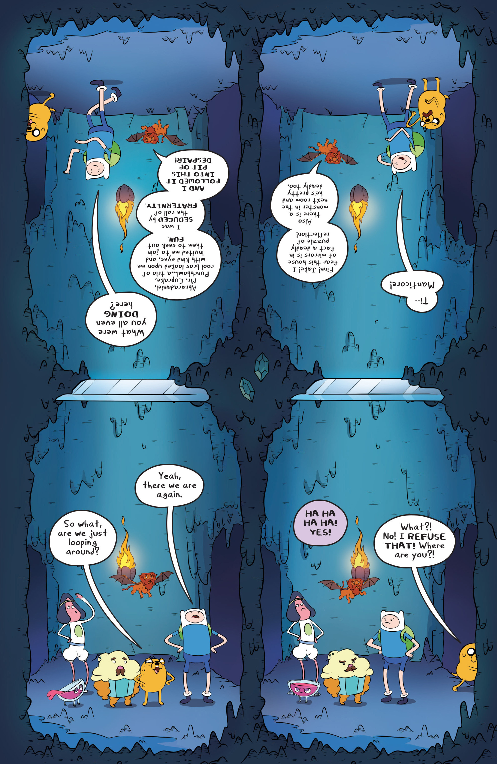 Read online Adventure Time comic -  Issue #45 - 22