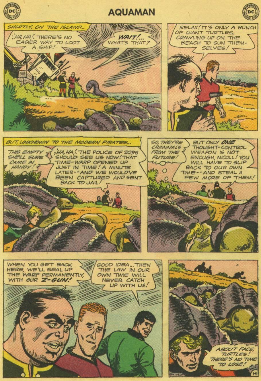 Read online Aquaman (1962) comic -  Issue #13 - 19
