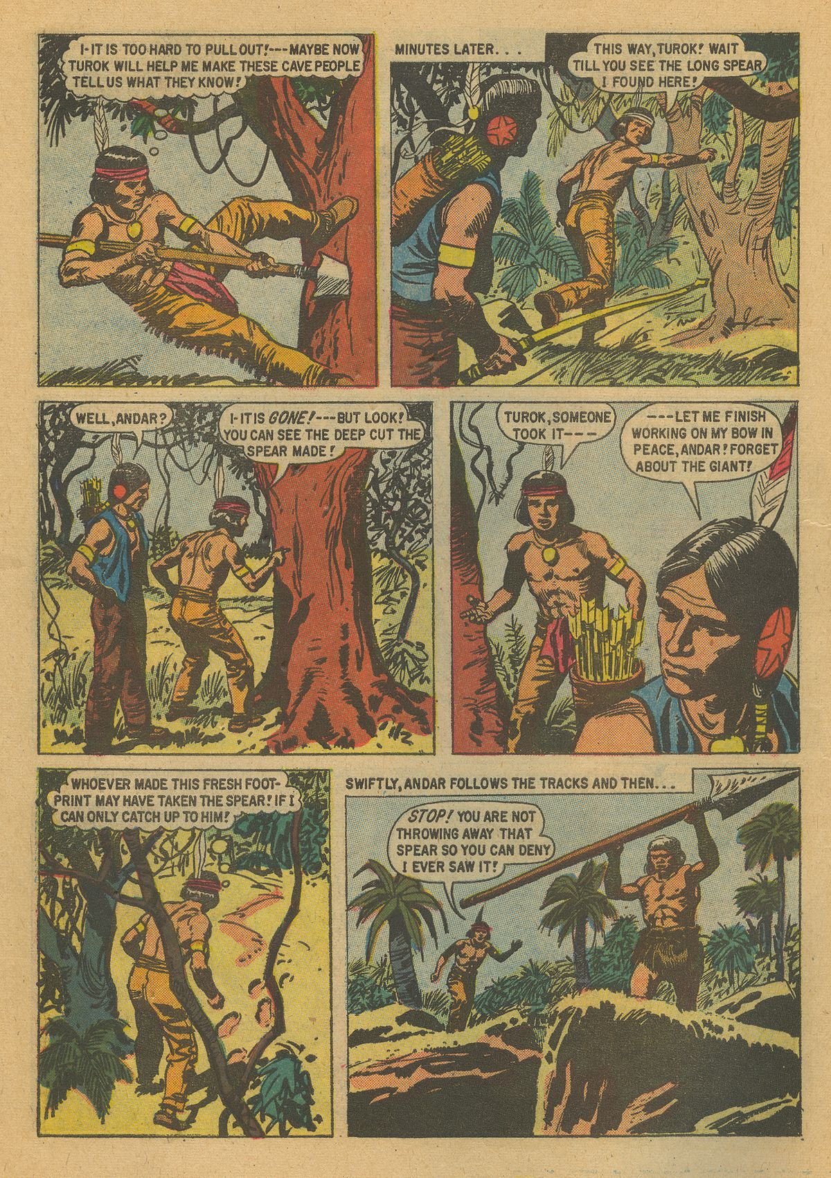 Read online Turok, Son of Stone comic -  Issue #16 - 10