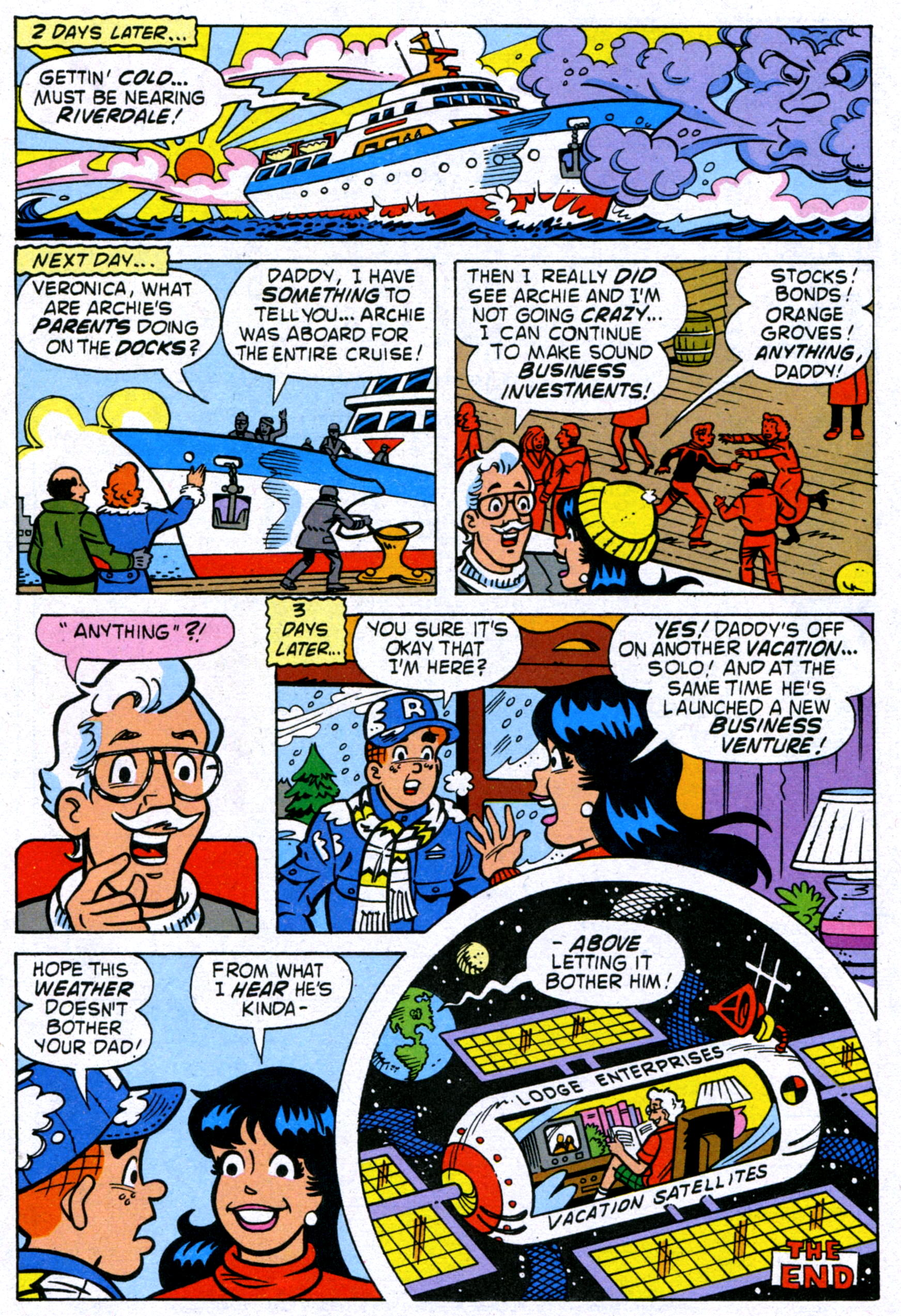 Read online World of Archie comic -  Issue #14 - 17