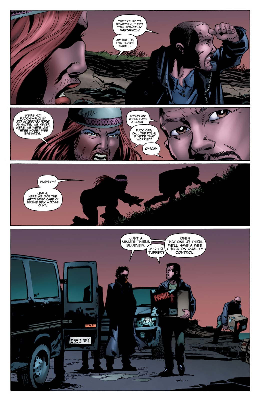Read online The Boys Omnibus comic -  Issue # TPB 4 (Part 4) - 24