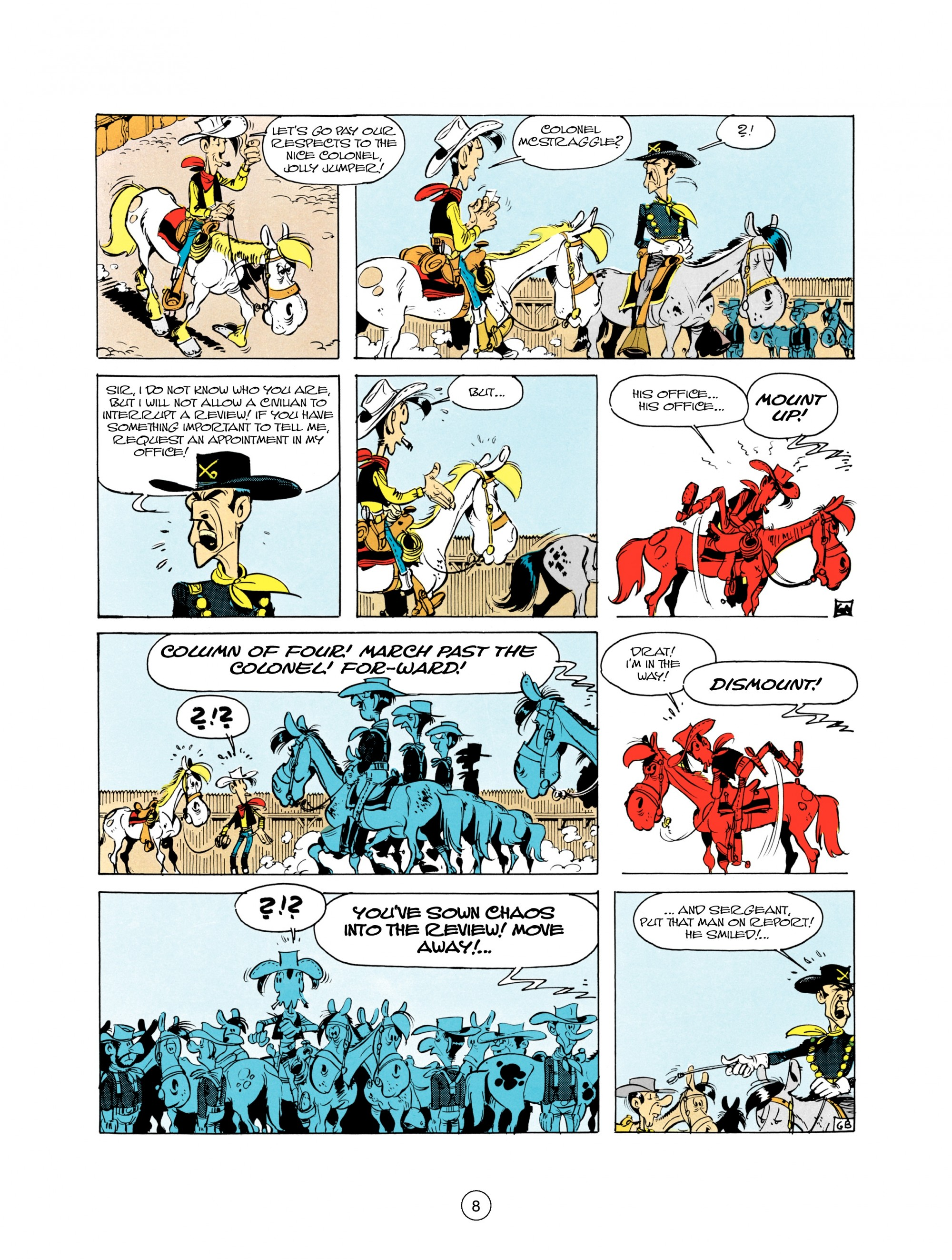 Read online A Lucky Luke Adventure comic -  Issue #21 - 8