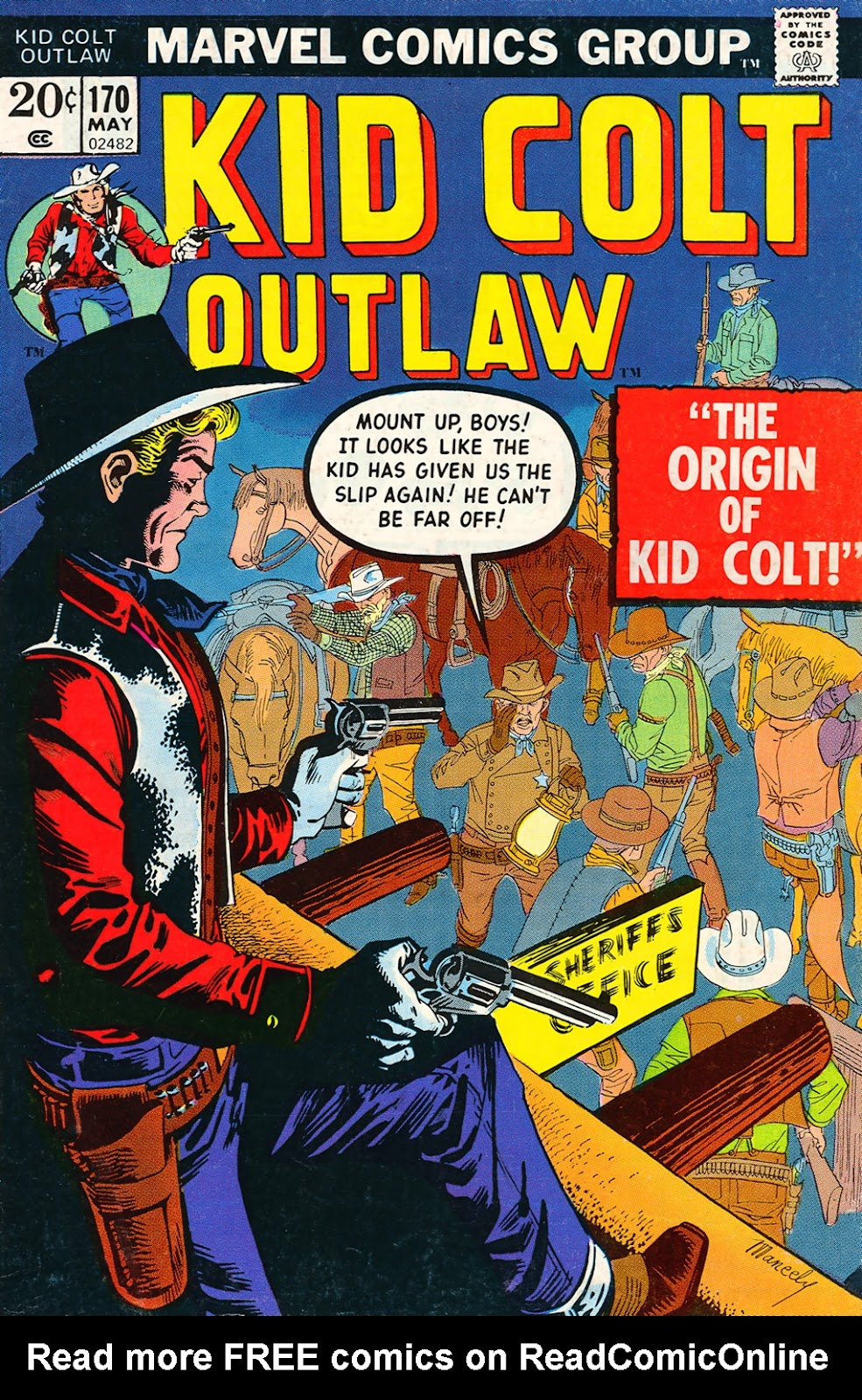Kid Colt Outlaw issue 170 - Page 1