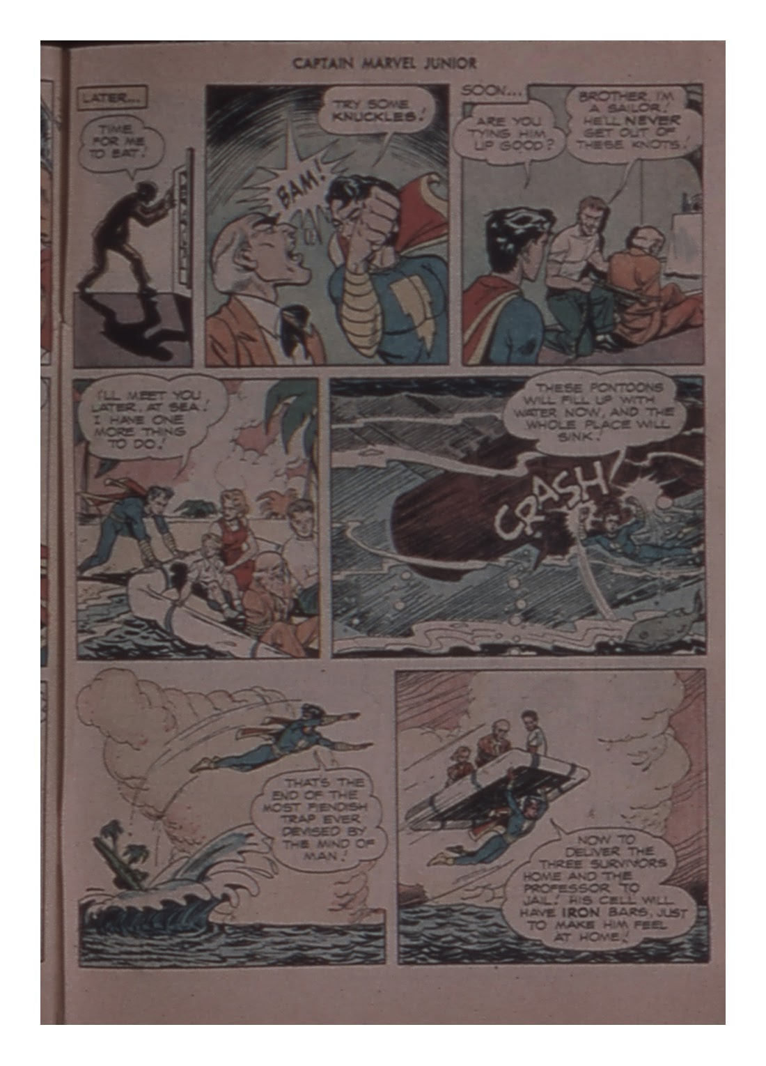 Captain Marvel, Jr. issue 58 - Page 49