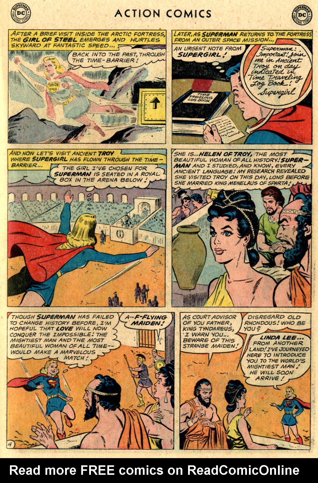 Read online Action Comics (1938) comic -  Issue #289 - 23