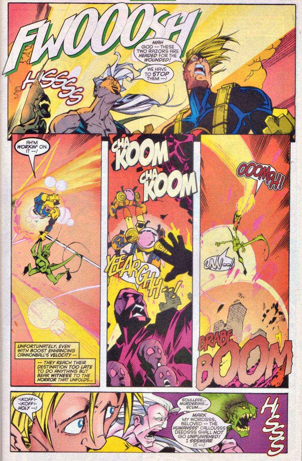 Read online Uncanny X-Men (1963) comic -  Issue # _Annual 1997 - 24