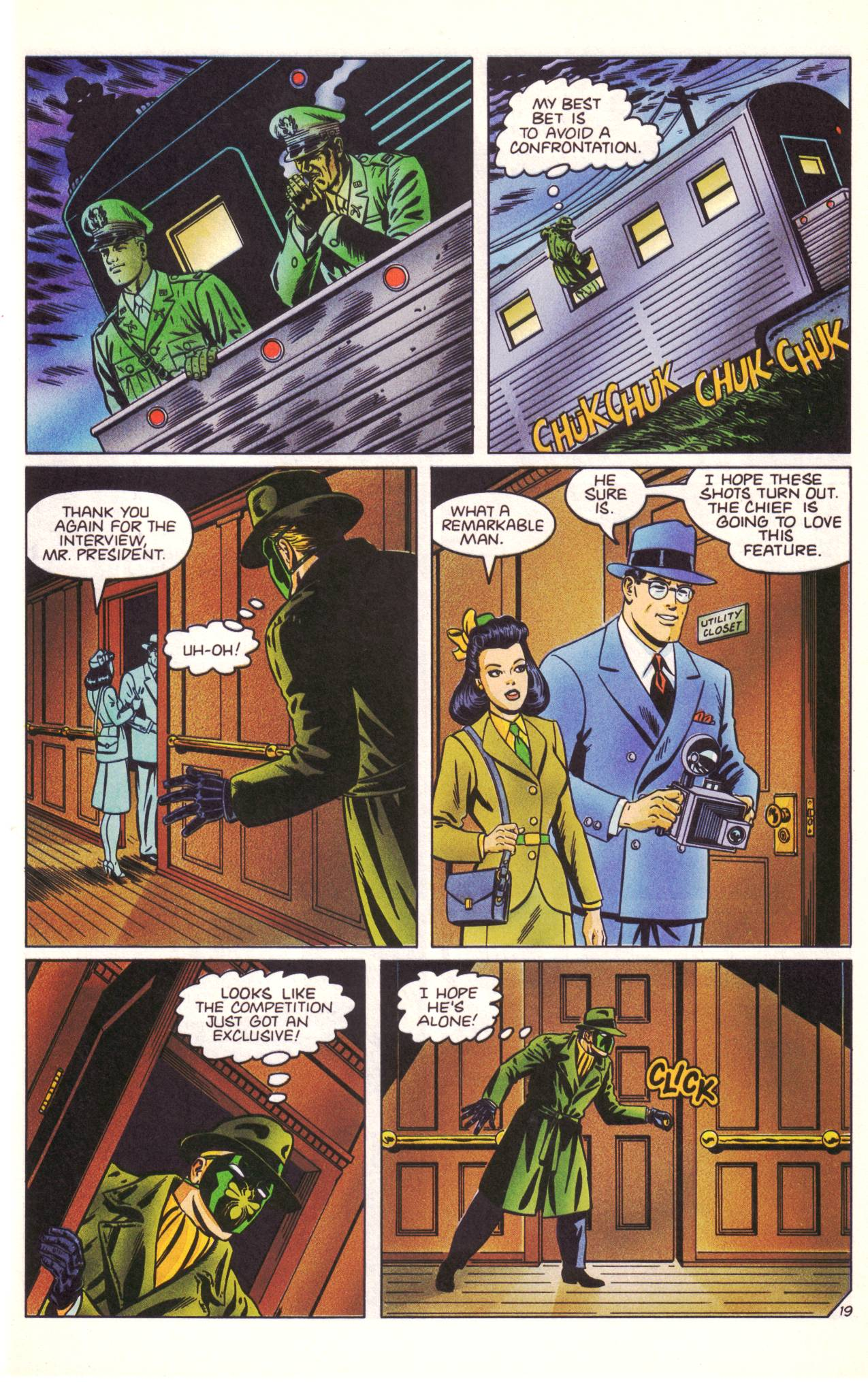 Read online Sting of The Green Hornet comic -  Issue #3 - 20