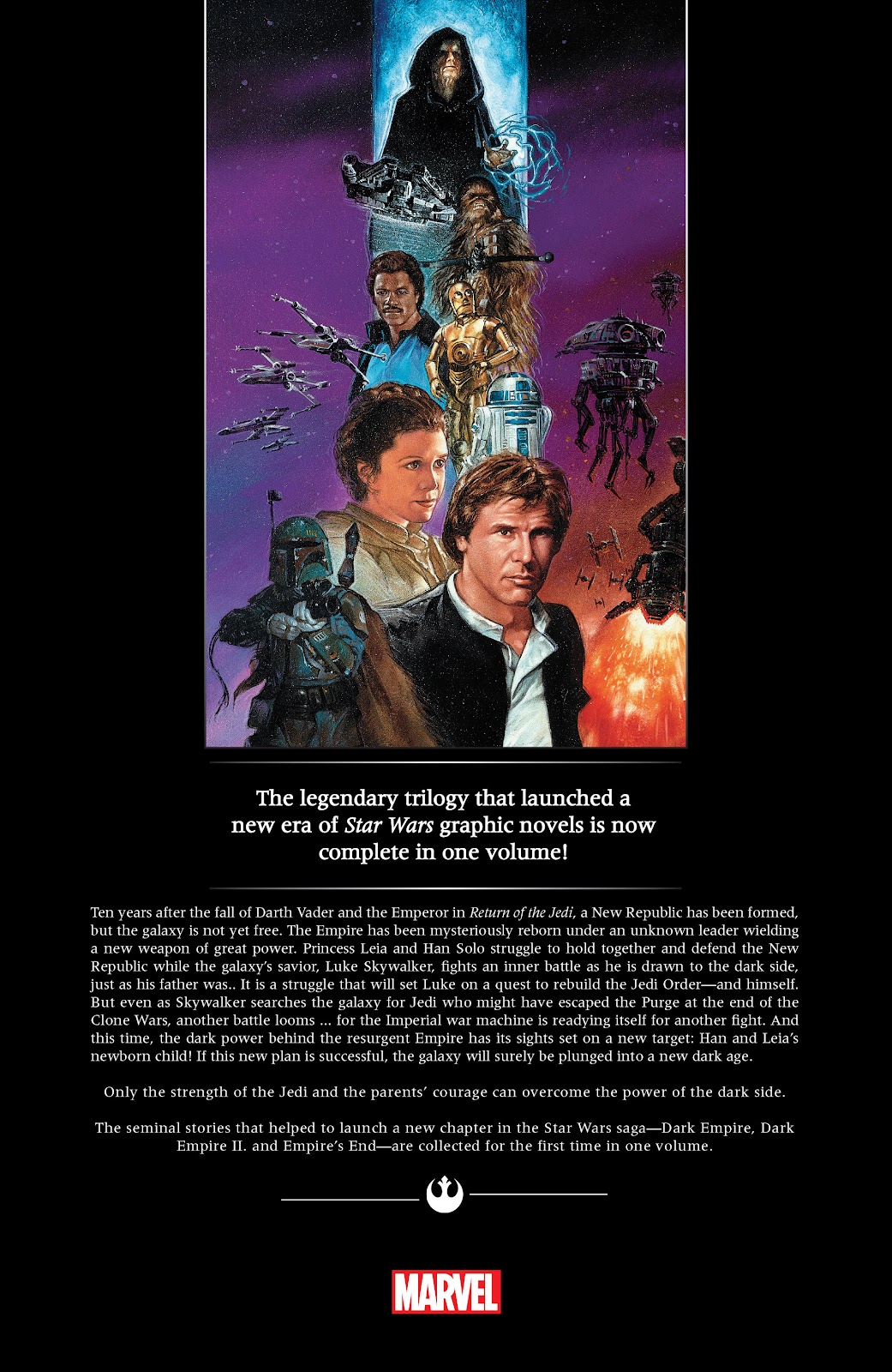 Read online Star Wars: Dark Empire Trilogy comic -  Issue # TPB (Part 4) - 85