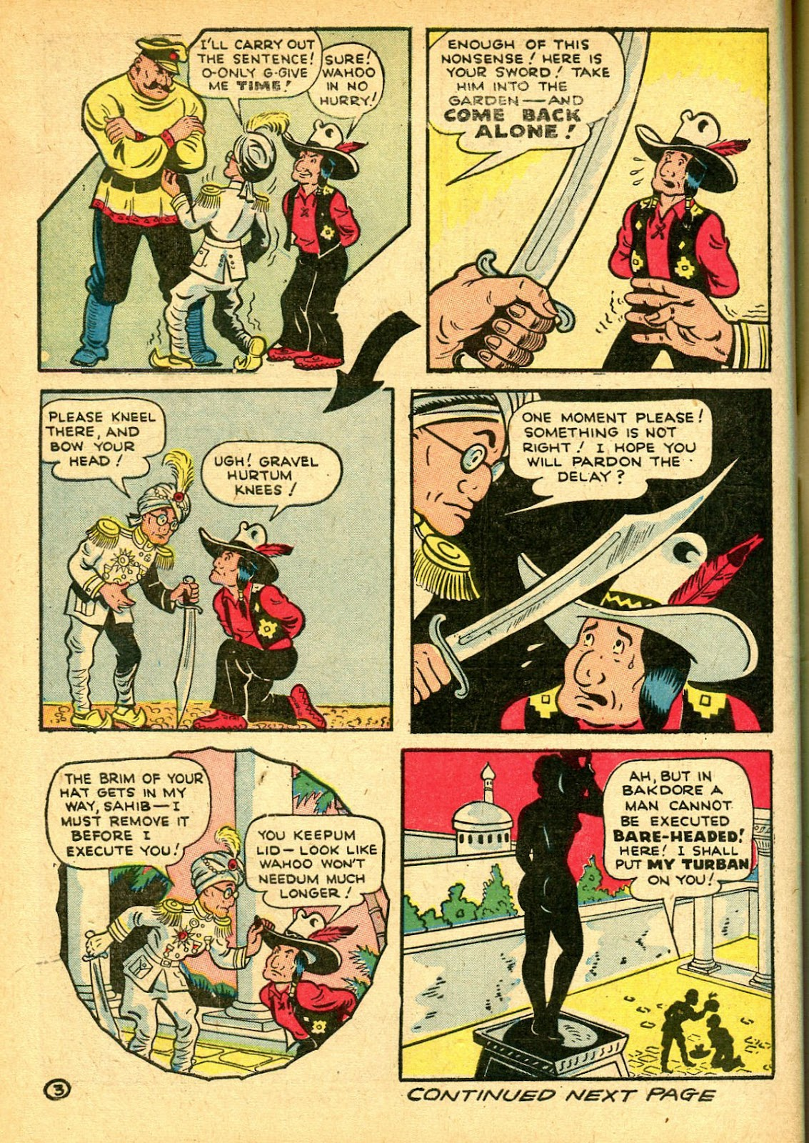 Read online Famous Funnies comic -  Issue #108 - 64