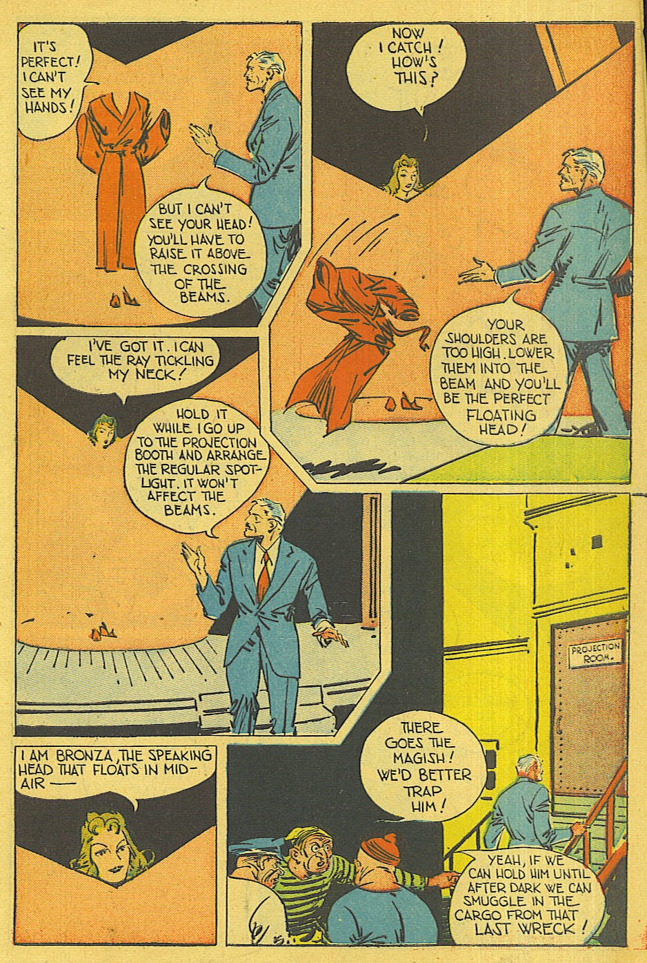 Read online Super-Magician Comics comic -  Issue #42 - 6