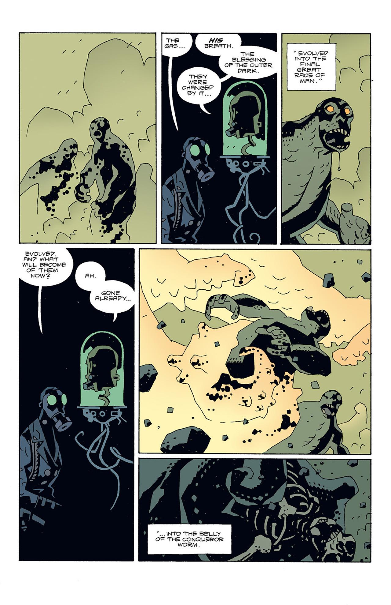 Read online Hellboy: Conqueror Worm comic -  Issue #3 - 24