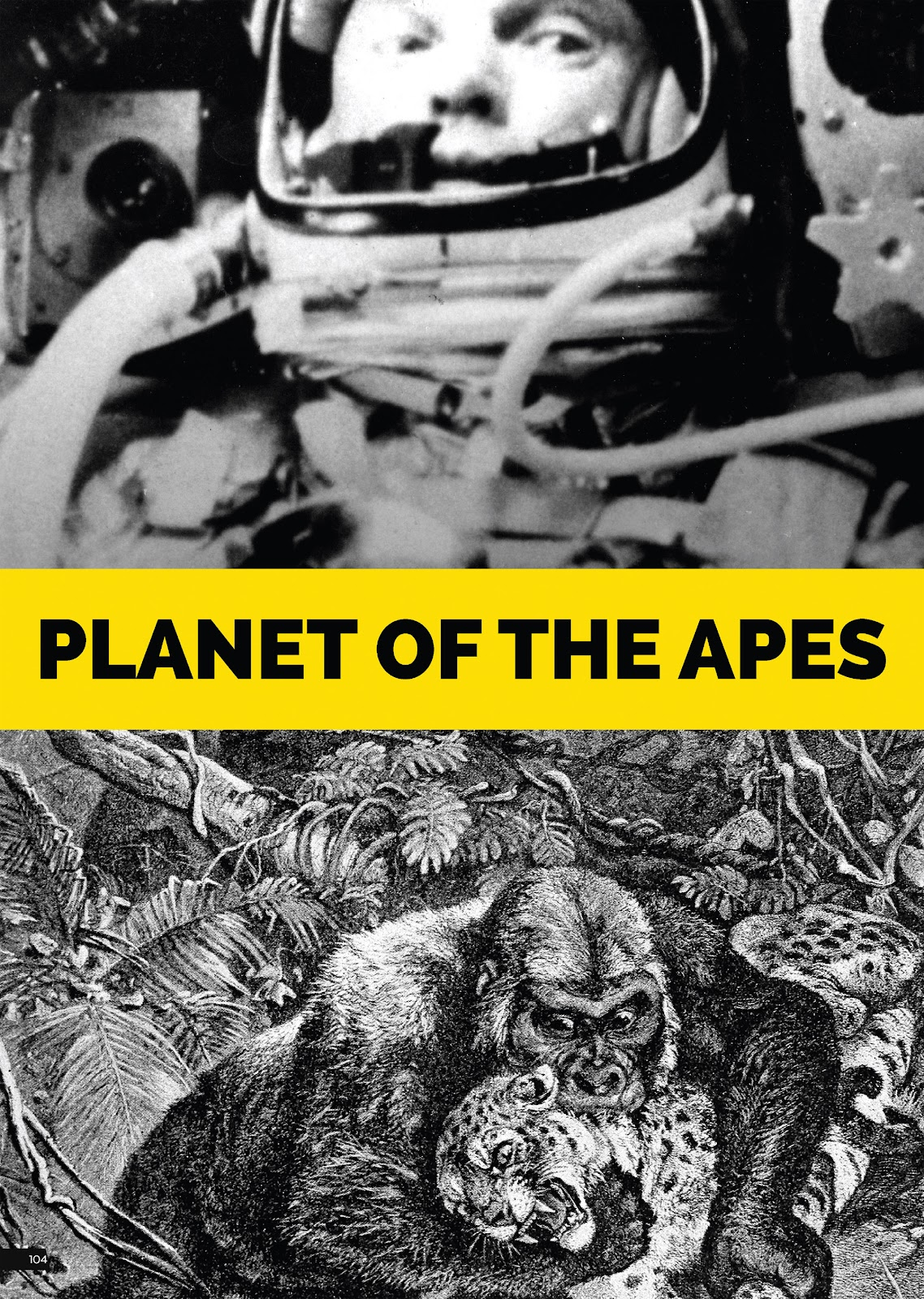 Read online Planet of the Apes Artist Tribute comic -  Issue # TPB - 104