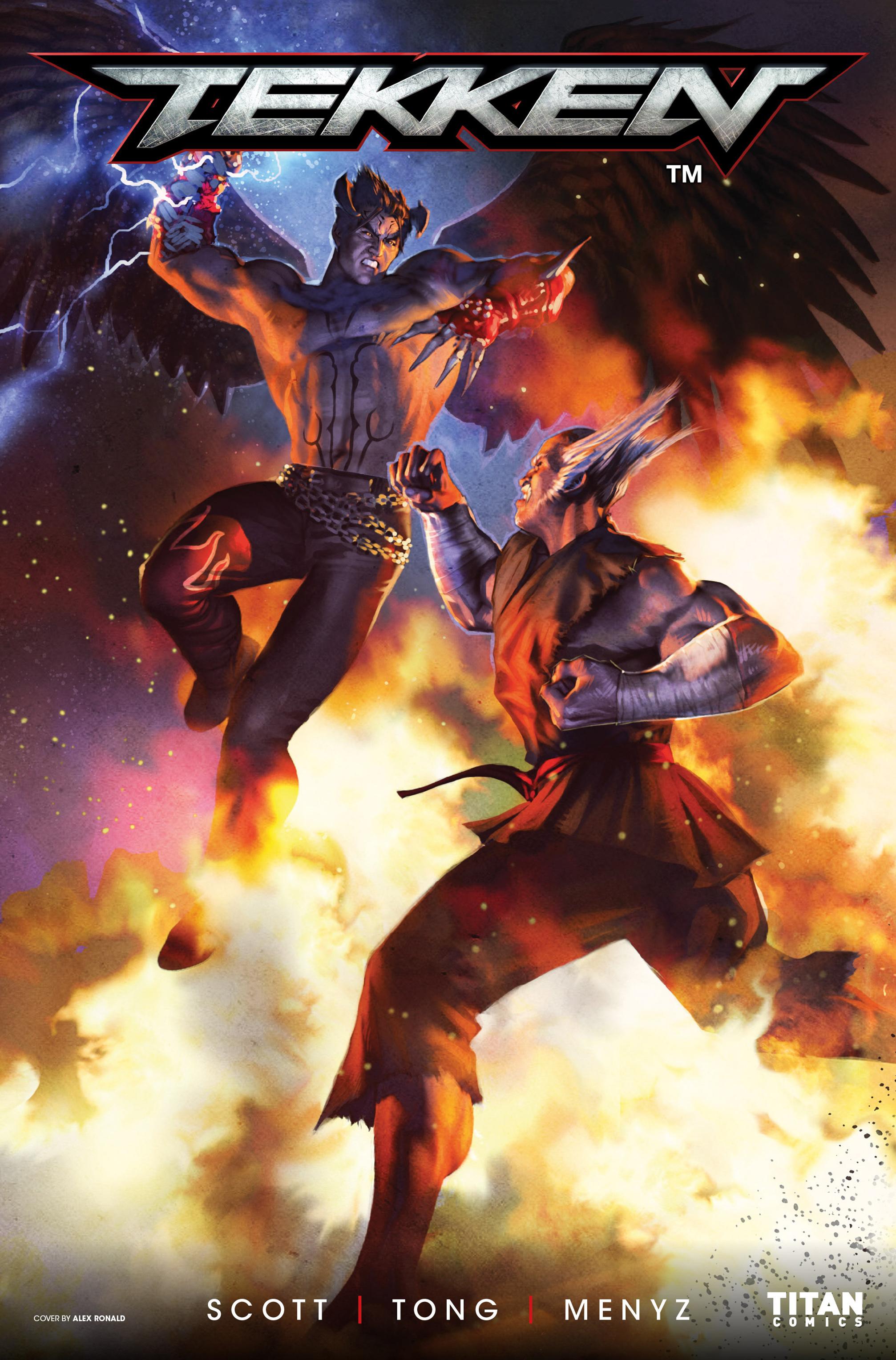 Read online Tekken comic -  Issue #1 - 1
