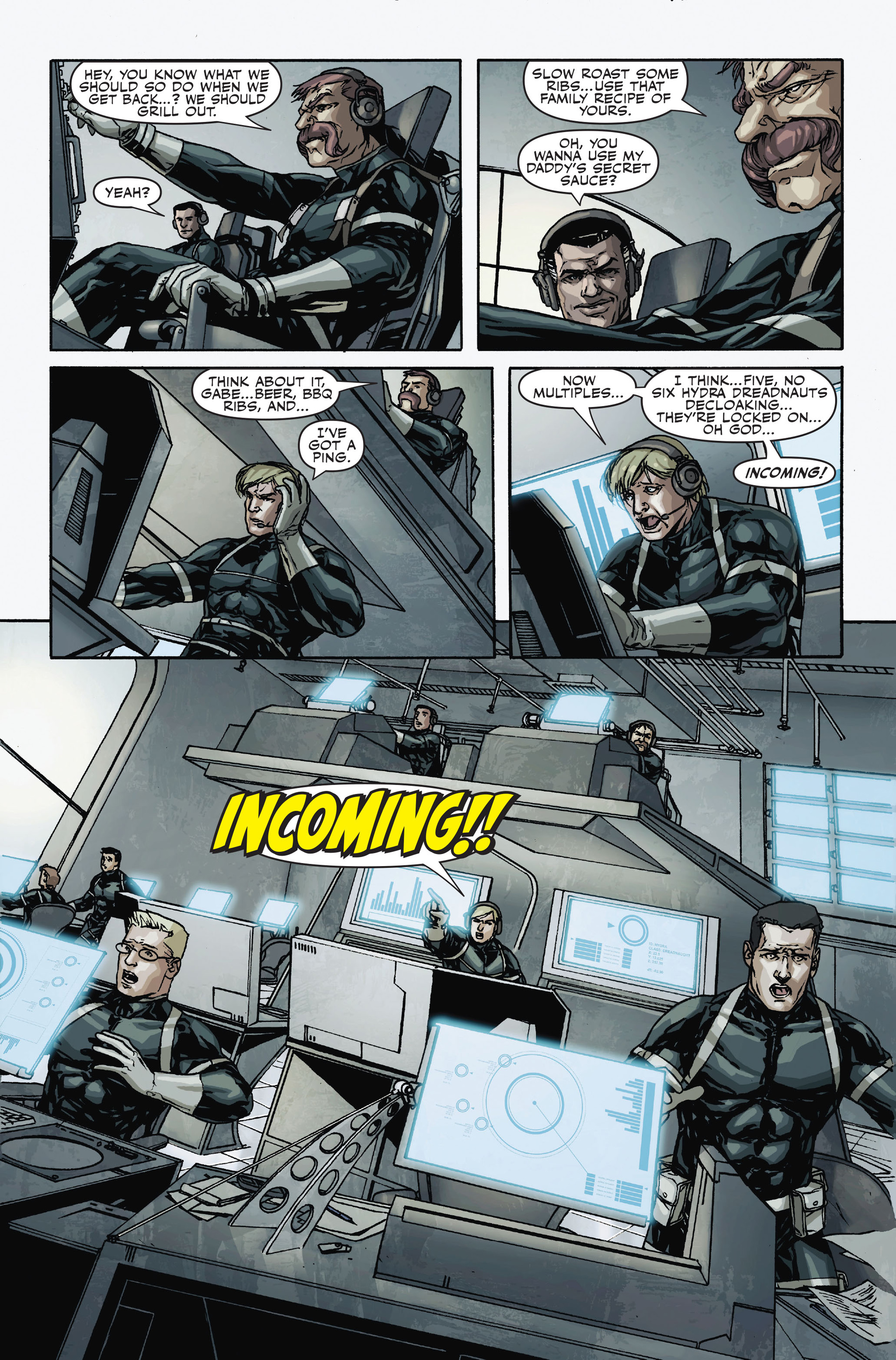 Read online Secret Warriors comic -  Issue #18 - 21