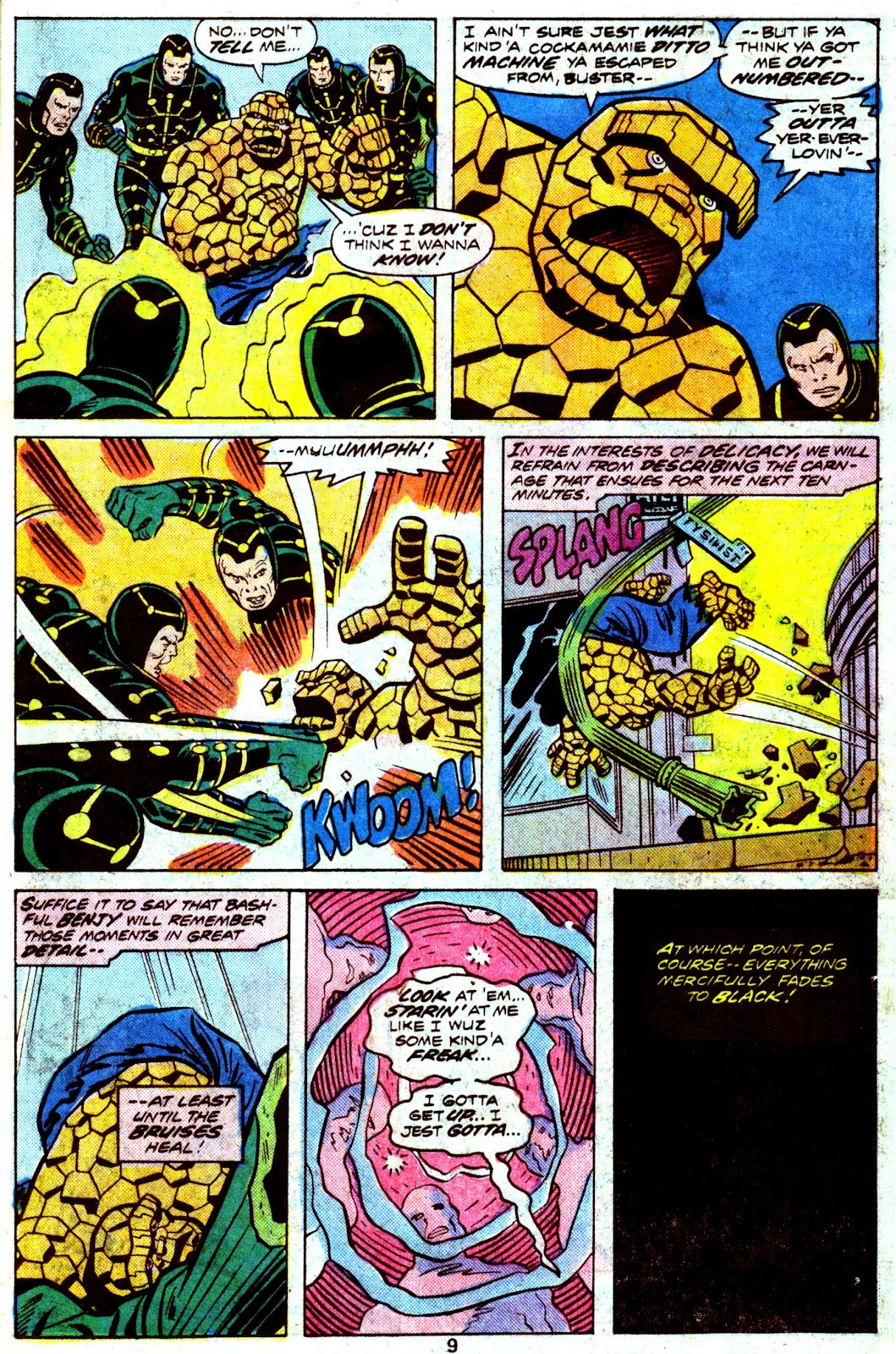 Giant-Size Fantastic Four issue 4 - Page 11