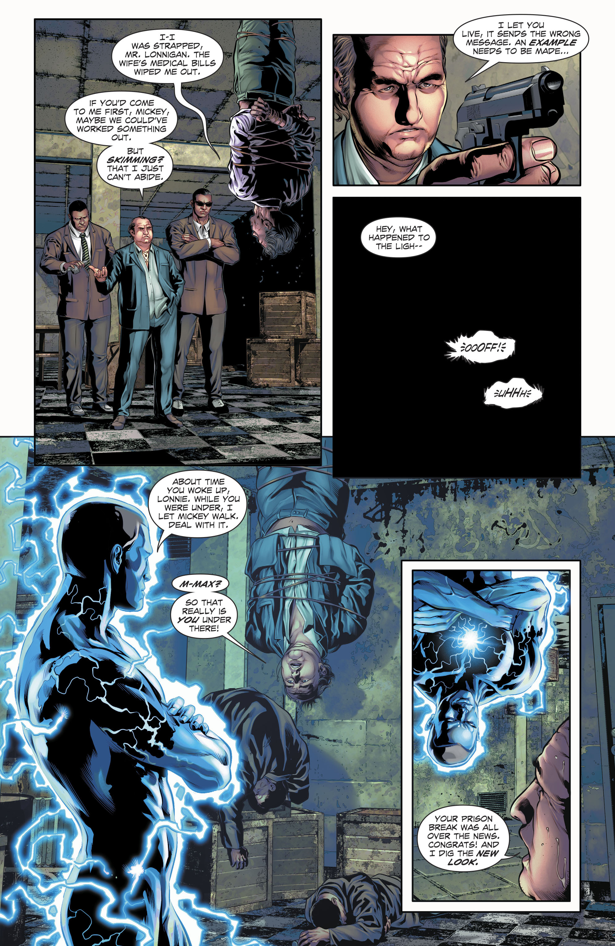 Read online The Fall and Rise of Captain Atom comic -  Issue #5 - 5