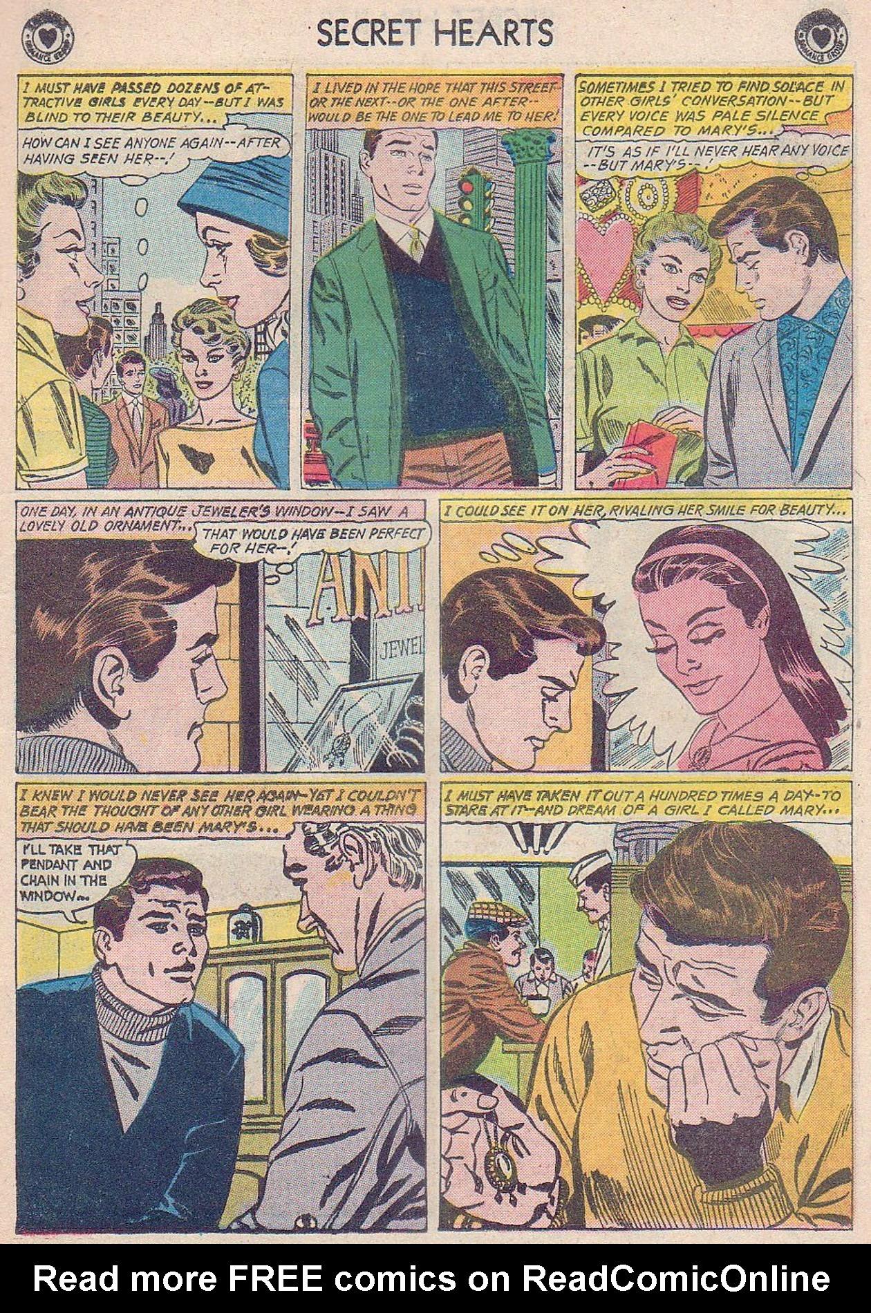 Read online Secret Hearts comic -  Issue #61 - 7