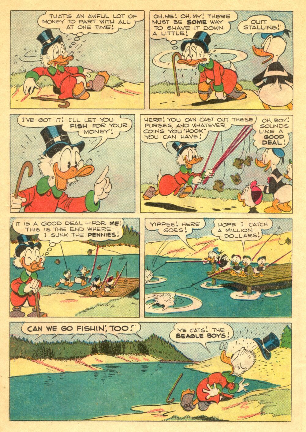Read online Uncle Scrooge (1953) comic -  Issue #1 - 19