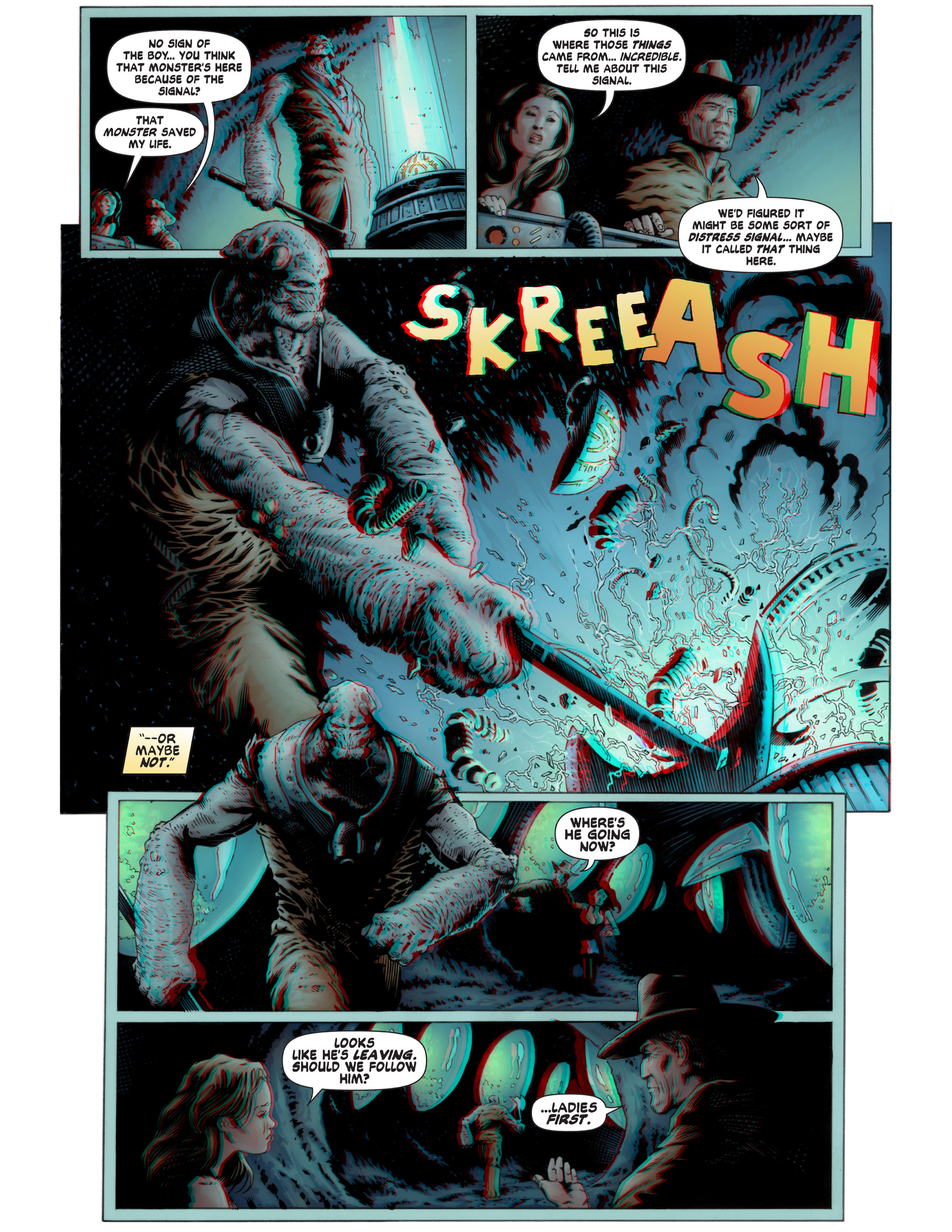 Read online Bad Planet comic -  Issue # TPB - 63