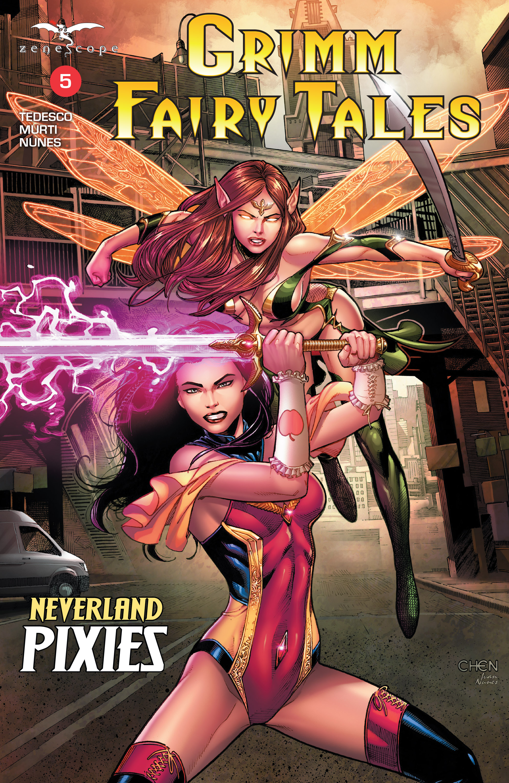 Read online Grimm Fairy Tales (2016) comic -  Issue #5 - 1