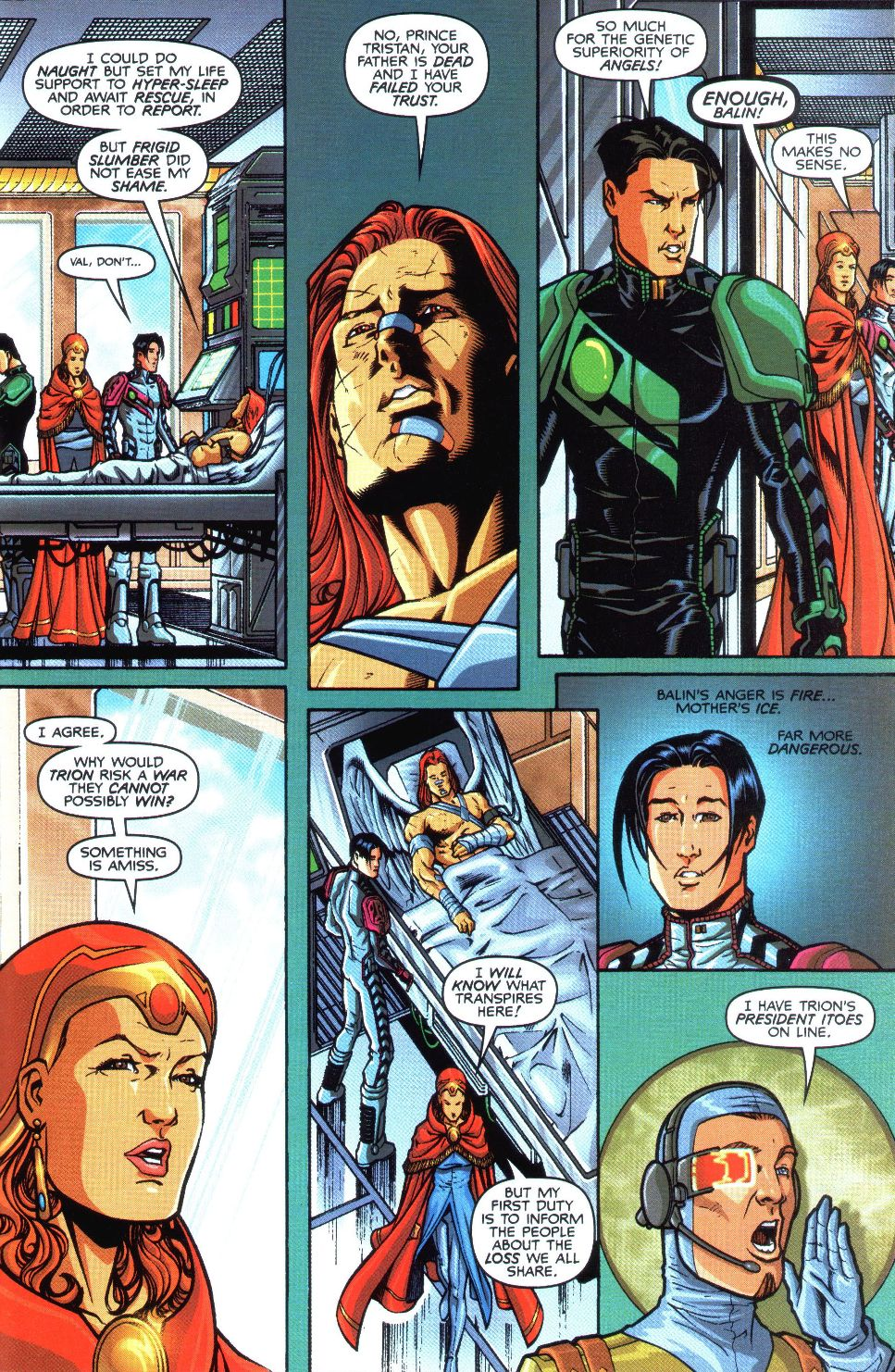 Read online Spaceknights (2000) comic -  Issue #1 - 17