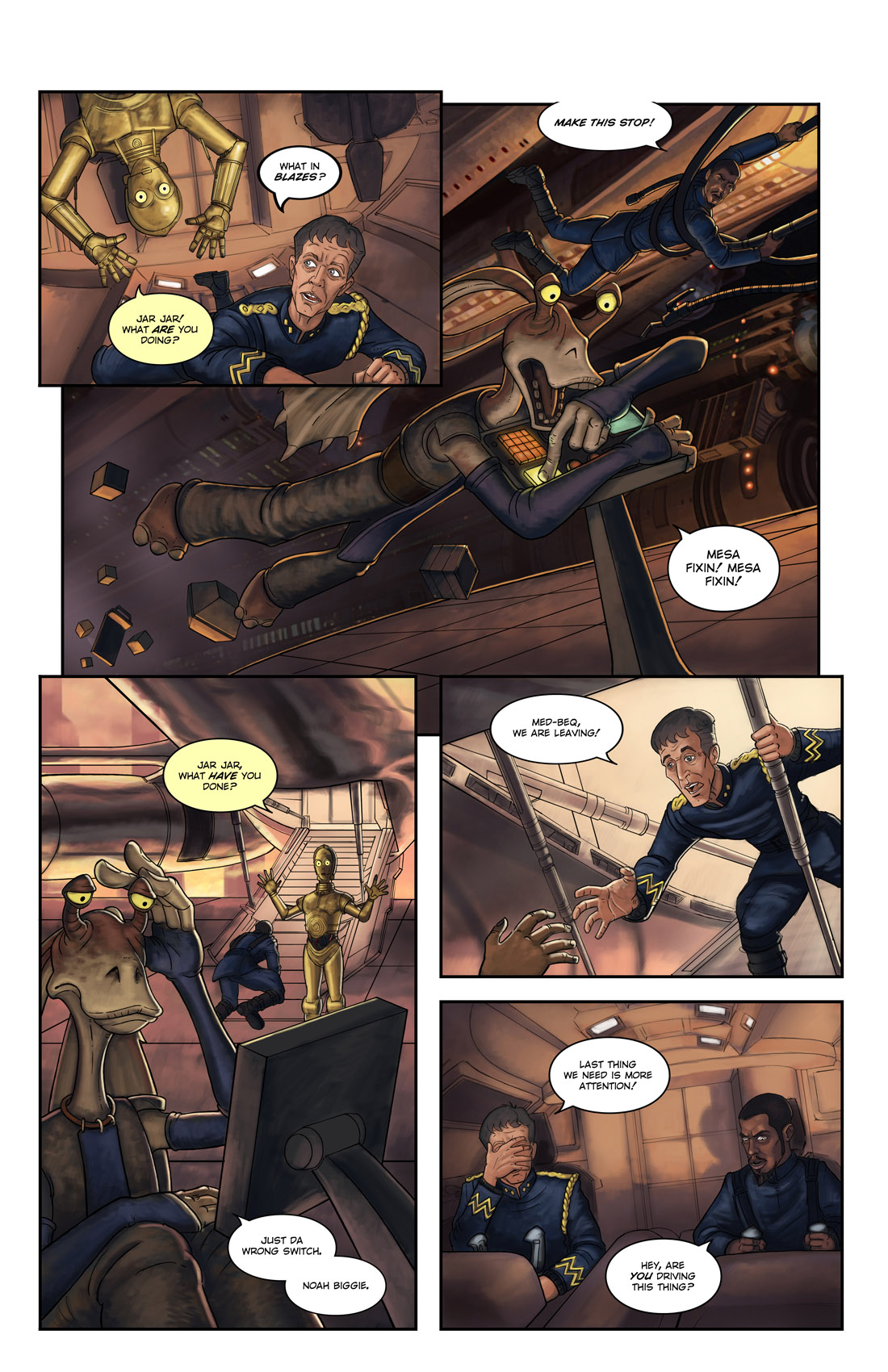 Read online Star Wars: Tales From The Clone Wars comic -  Issue # TPB - 58
