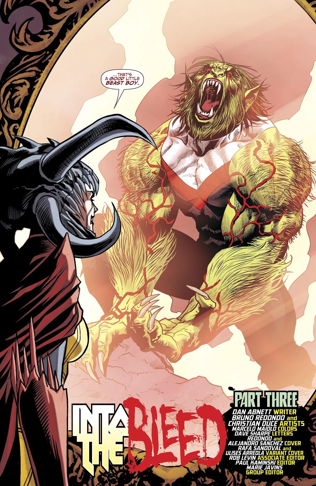 Read online Titans (2016) comic -  Issue #35 - 6