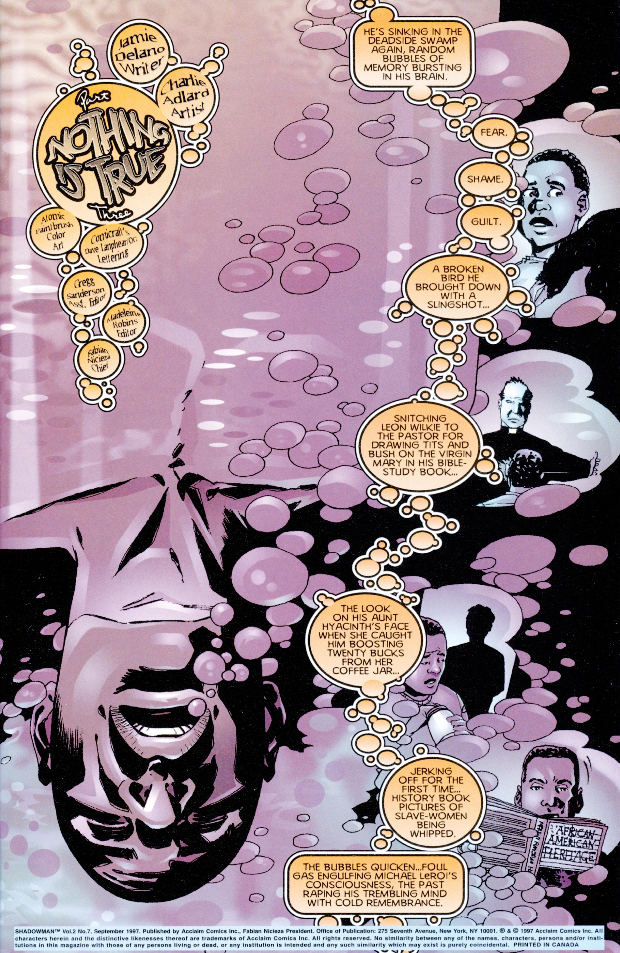 Read online Shadowman (1997) comic -  Issue #7 - 2