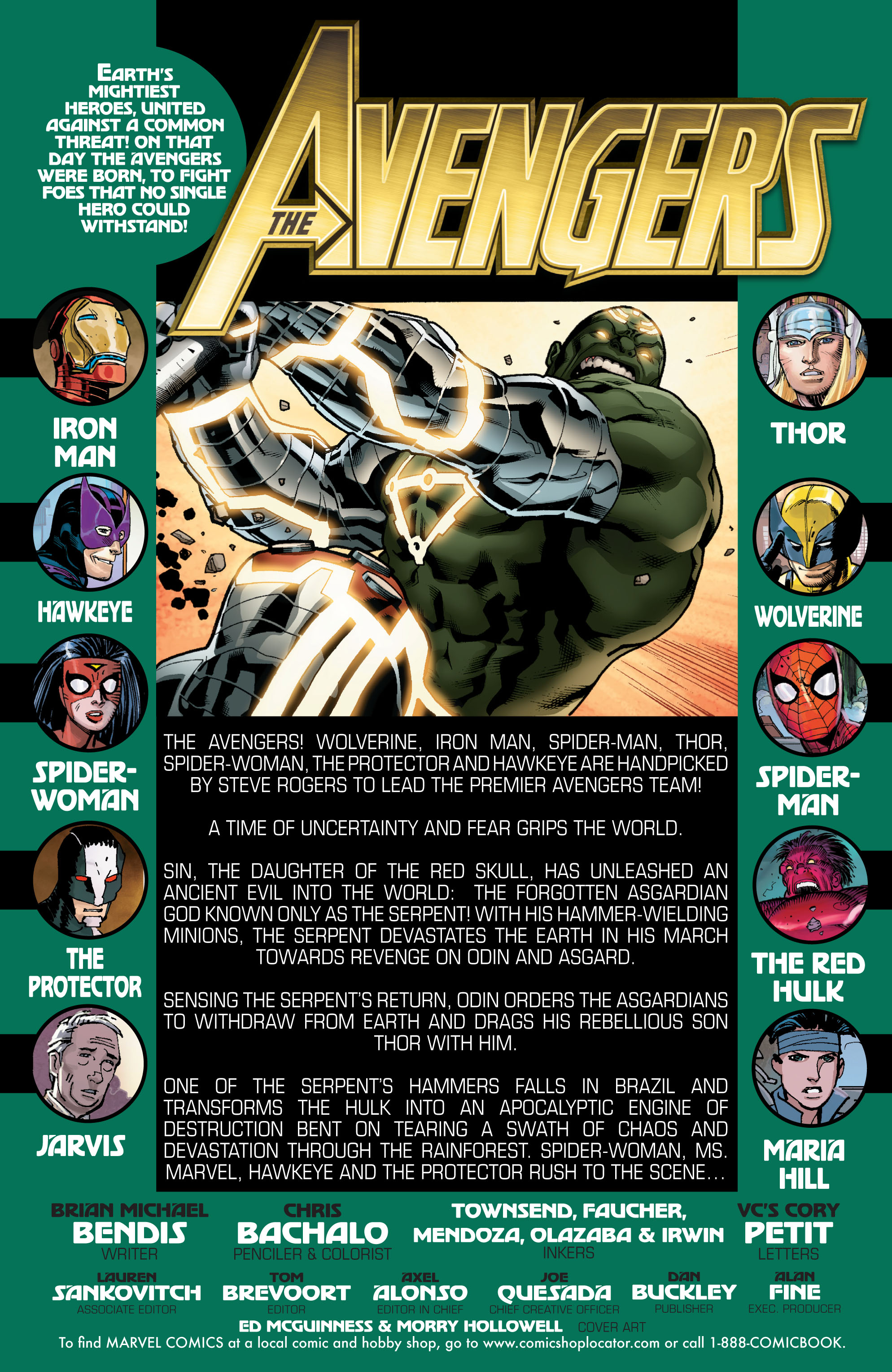 Read online Avengers (2010) comic -  Issue #15 - 2