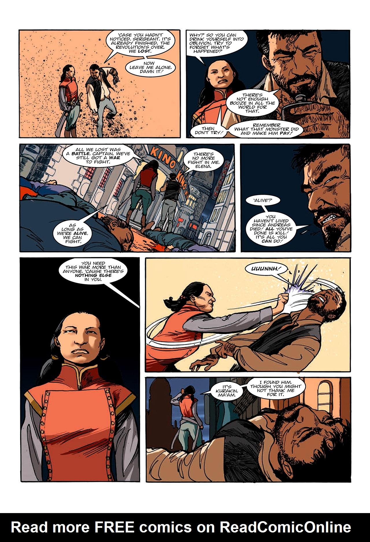 Read online Nikolai Dante comic -  Issue # TPB 10 - 138