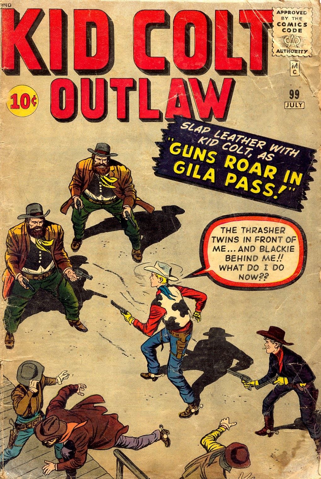 Kid Colt Outlaw issue 99 - Page 1