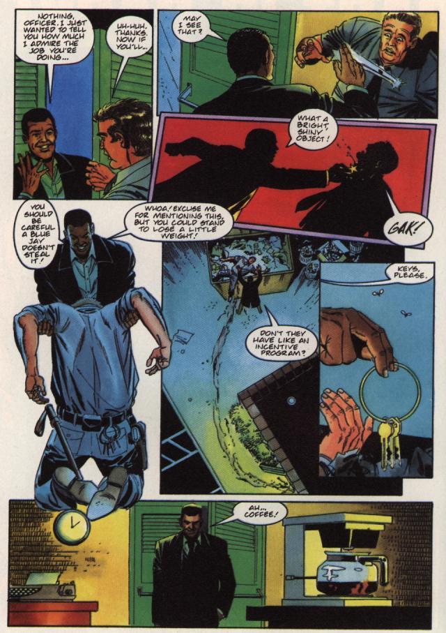 Read online Shadowman (1992) comic -  Issue #36 - 12