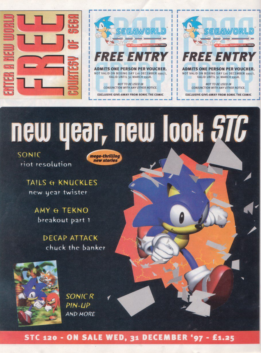 Read online Sonic the Comic comic -  Issue #119 - 27