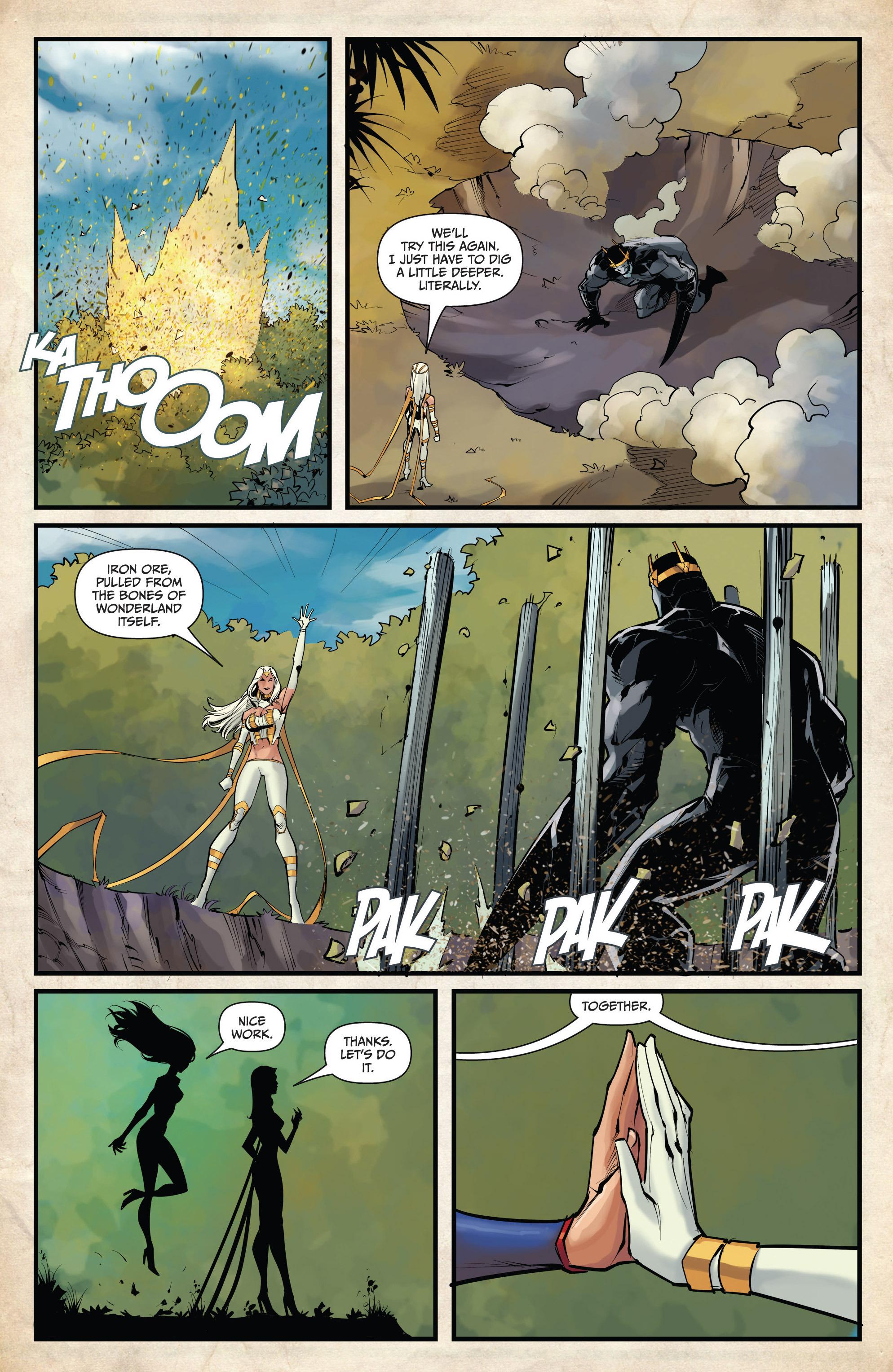 Read online Grimm Fairy Tales vs. Wonderland comic -  Issue #4 - 19