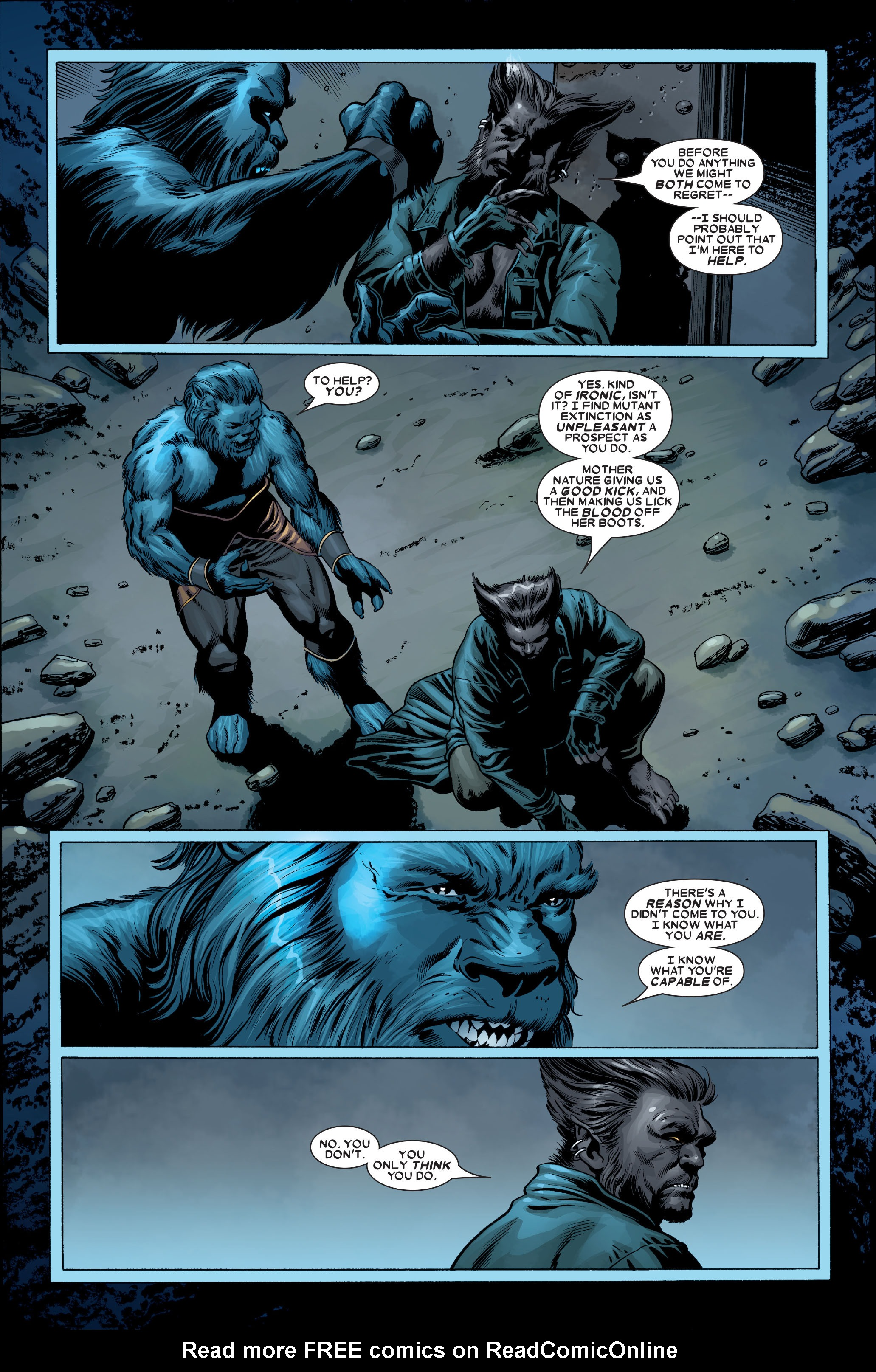 Read online Uncanny X-Men (1963) comic -  Issue #489 - 27