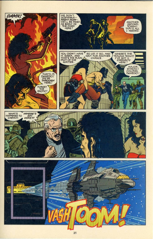 Read online Aliens/Predator: The Deadliest of the Species comic -  Issue #4 - 22