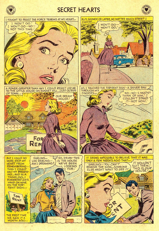 Read online Secret Hearts comic -  Issue #45 - 11